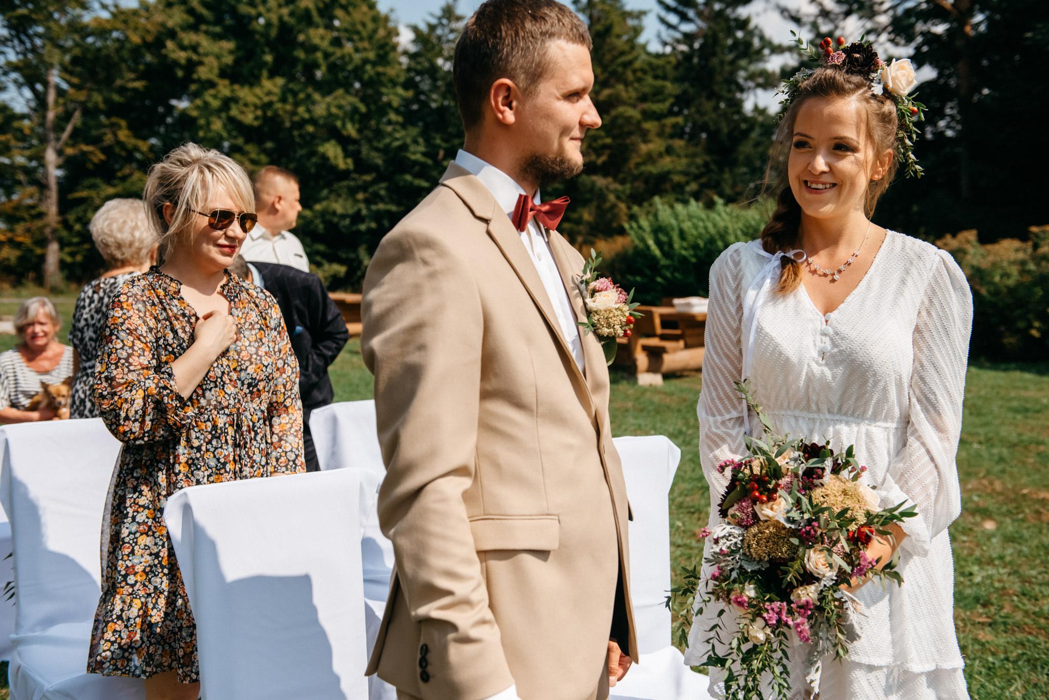 Plenerowy ślub w Bieszczadach | Karolina i Bartosz 24