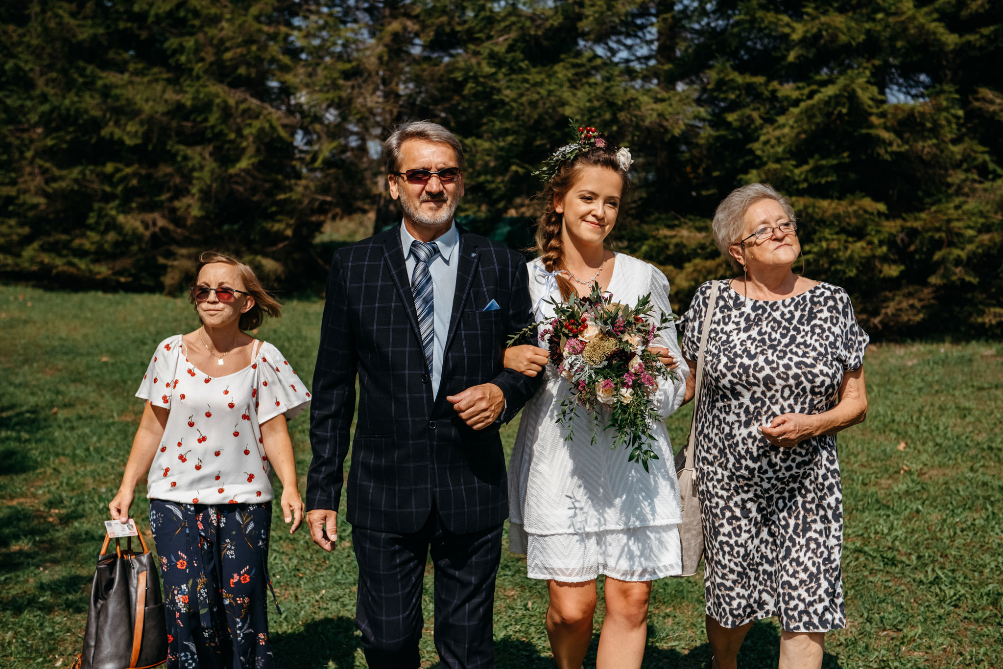 Plenerowy ślub w Bieszczadach | Karolina i Bartosz 2