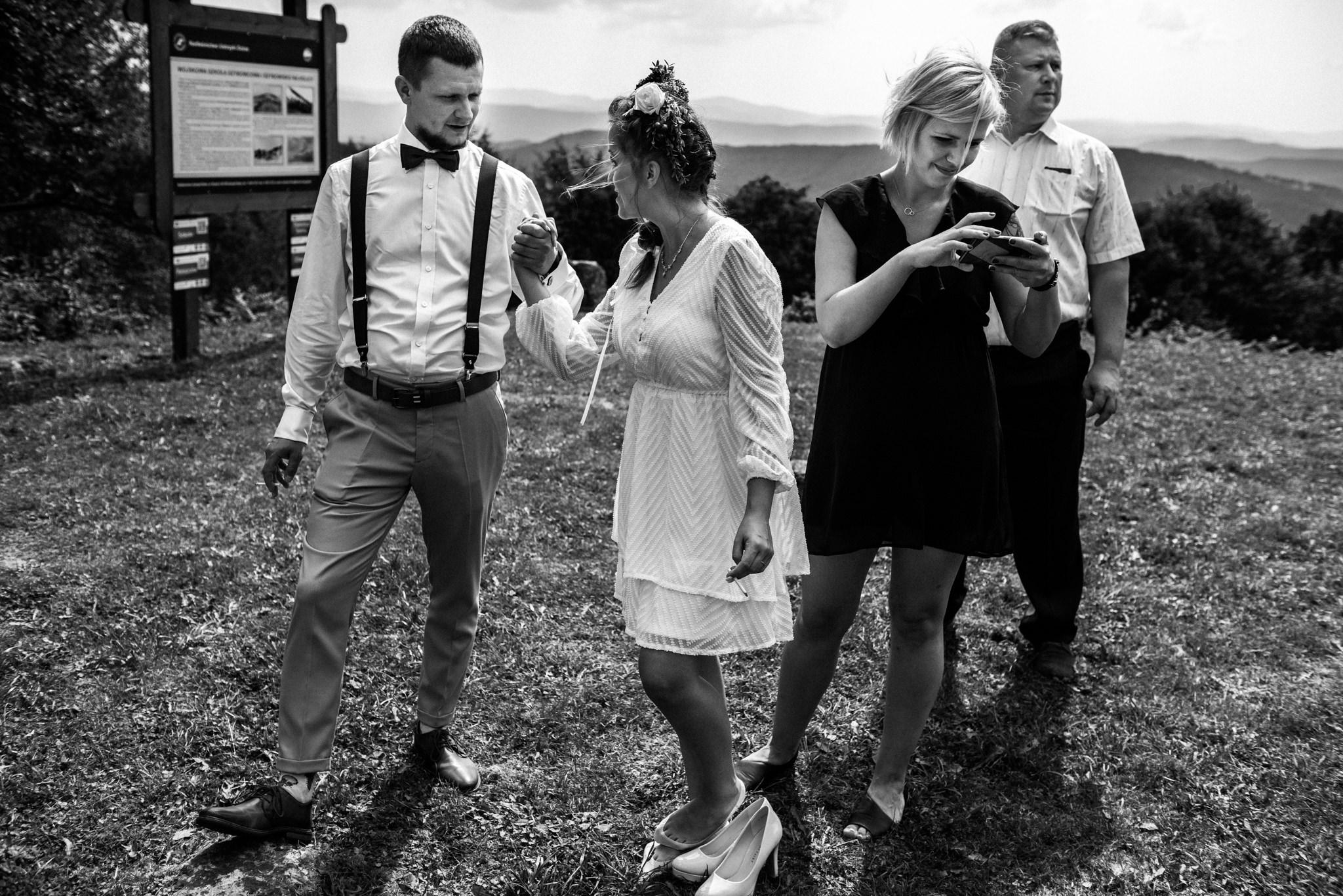 Plenerowy ślub w Bieszczadach | Karolina i Bartosz 48