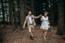plenerowy ślub w Bieszczadach