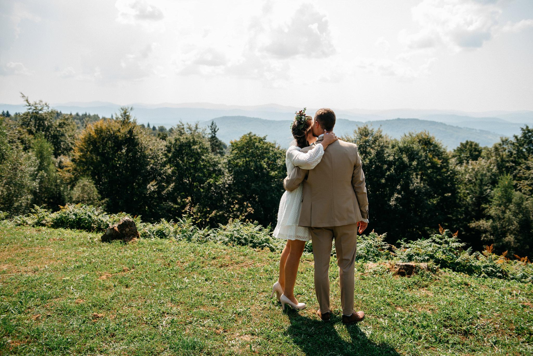 Plenerowy ślub w Bieszczadach | Karolina i Bartosz 5