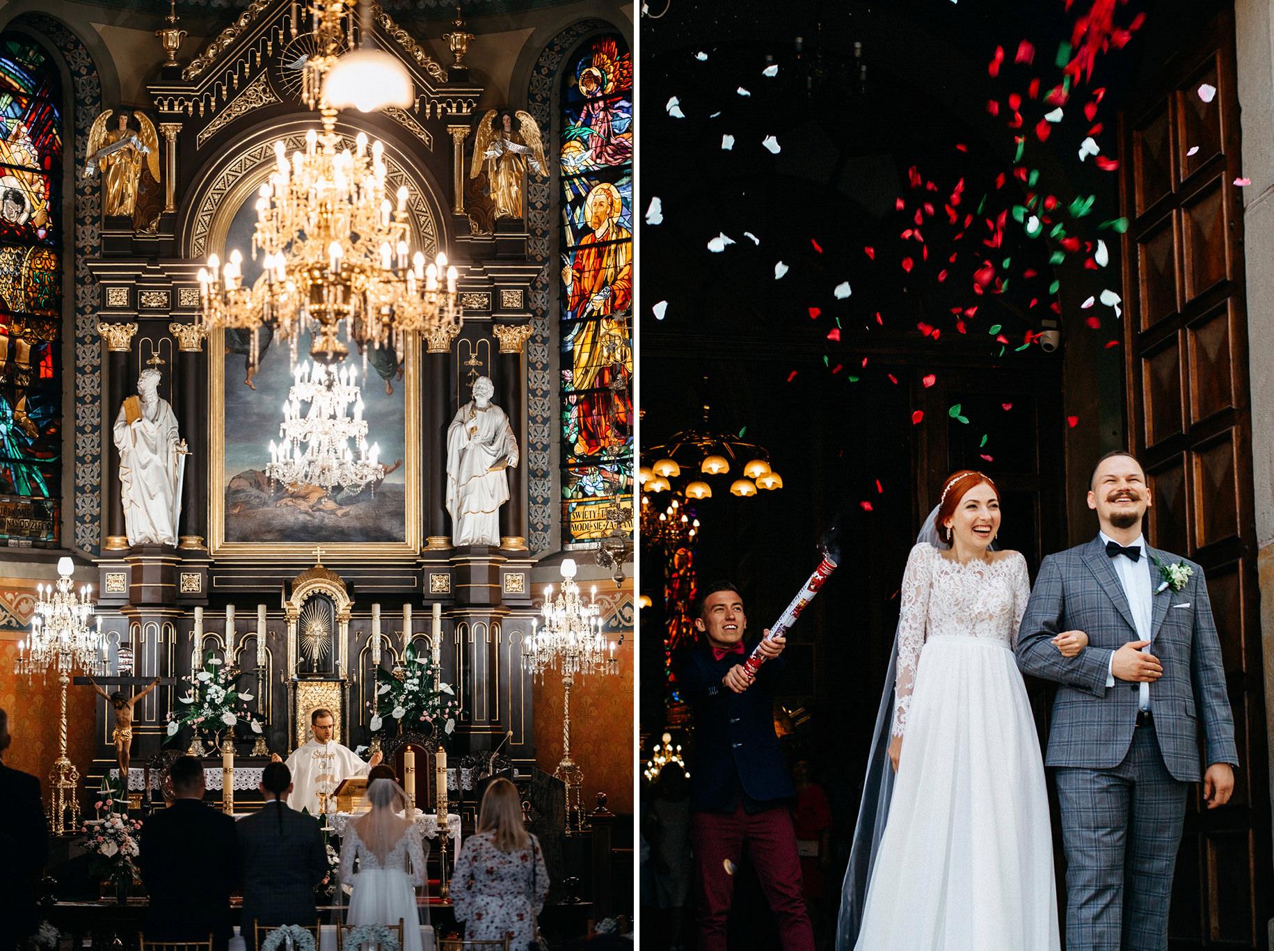 Bieszczadzki ślub Asi i Pawła | Chutor Kozacki w Łukowem 19