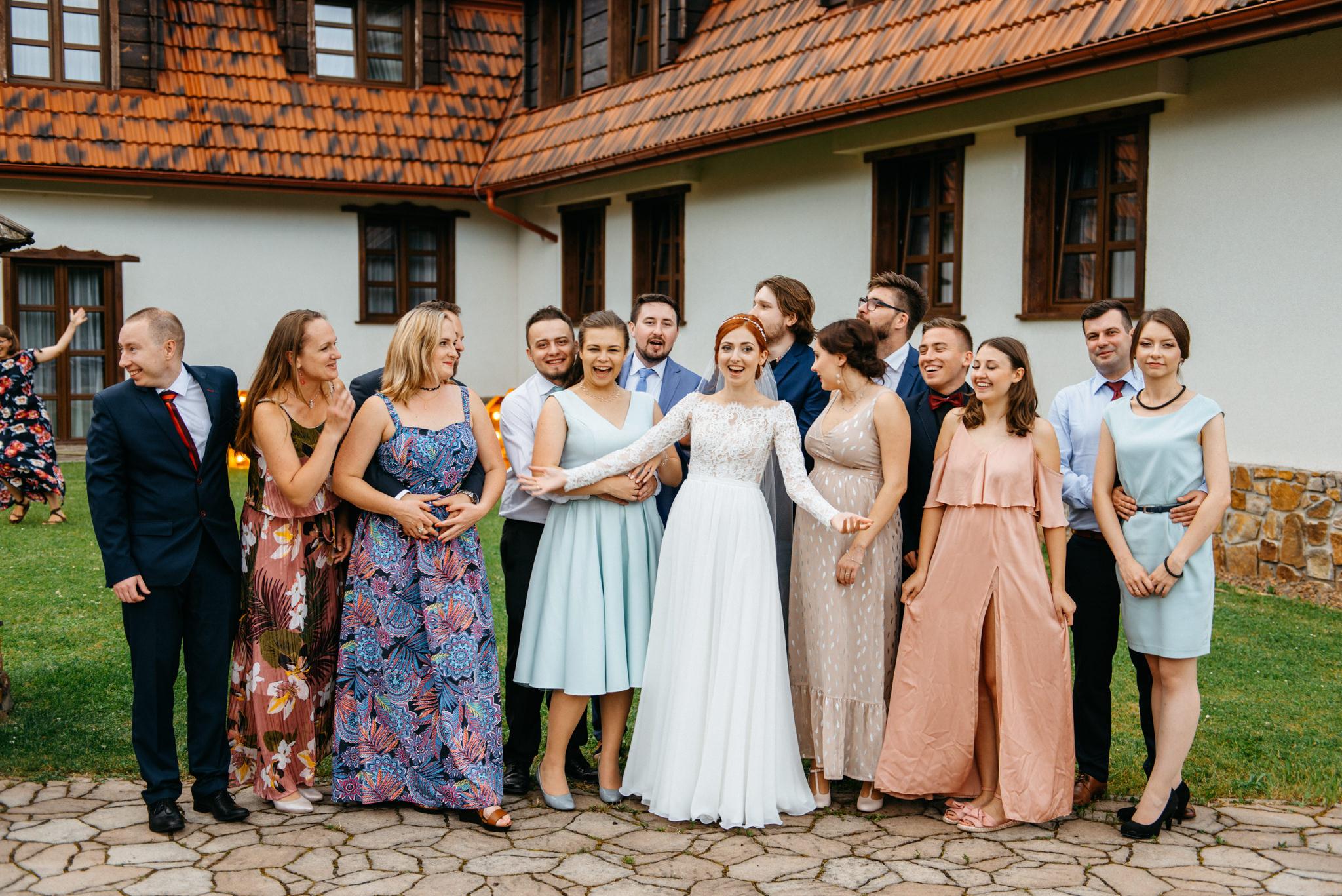 Bieszczadzki ślub Asi i Pawła | Chutor Kozacki w Łukowem 51