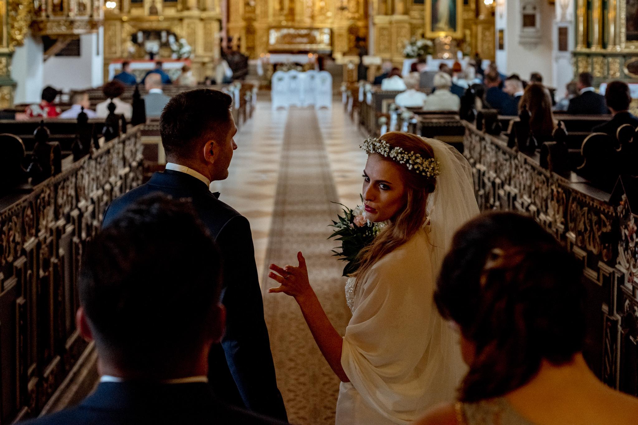 Ślub w Bazylice Basi i Piotra | Pałac Polanka 14