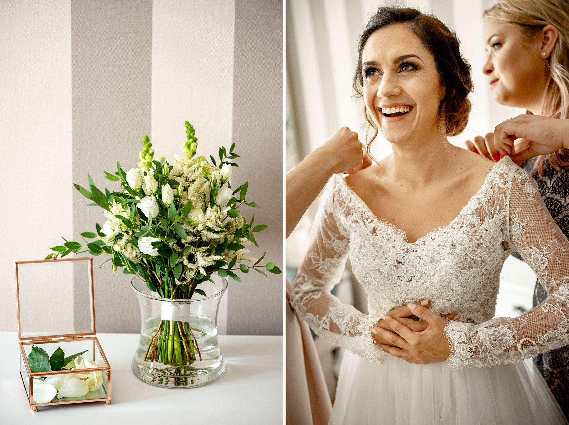 Szczególny ślub Karoliny i Tomka | hotel Forest 17