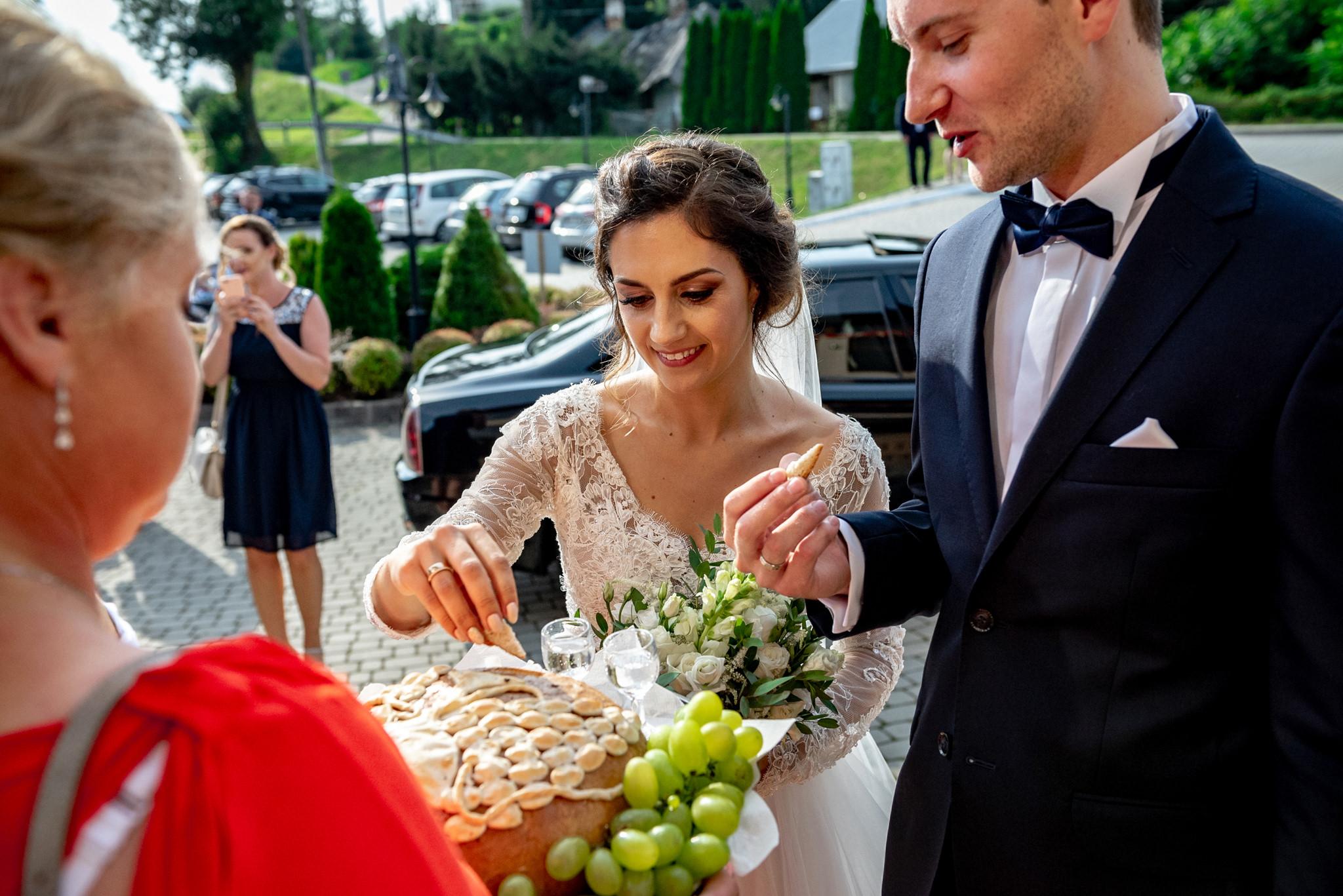 Szczególny ślub Karoliny i Tomka | hotel Forest 41