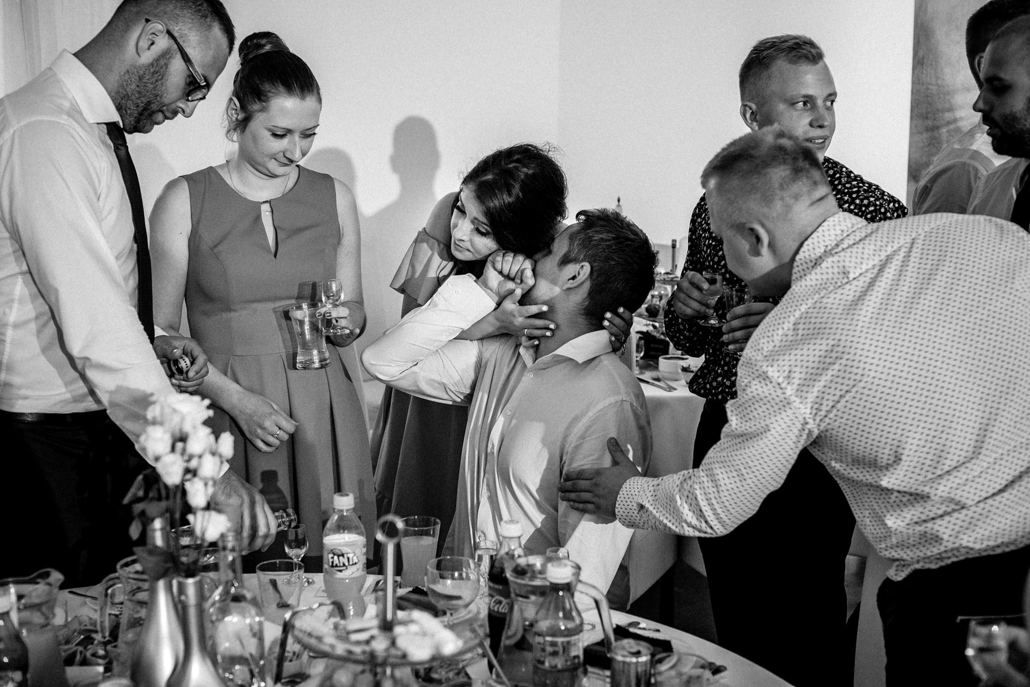 Szczególny ślub Karoliny i Tomka | hotel Forest 56