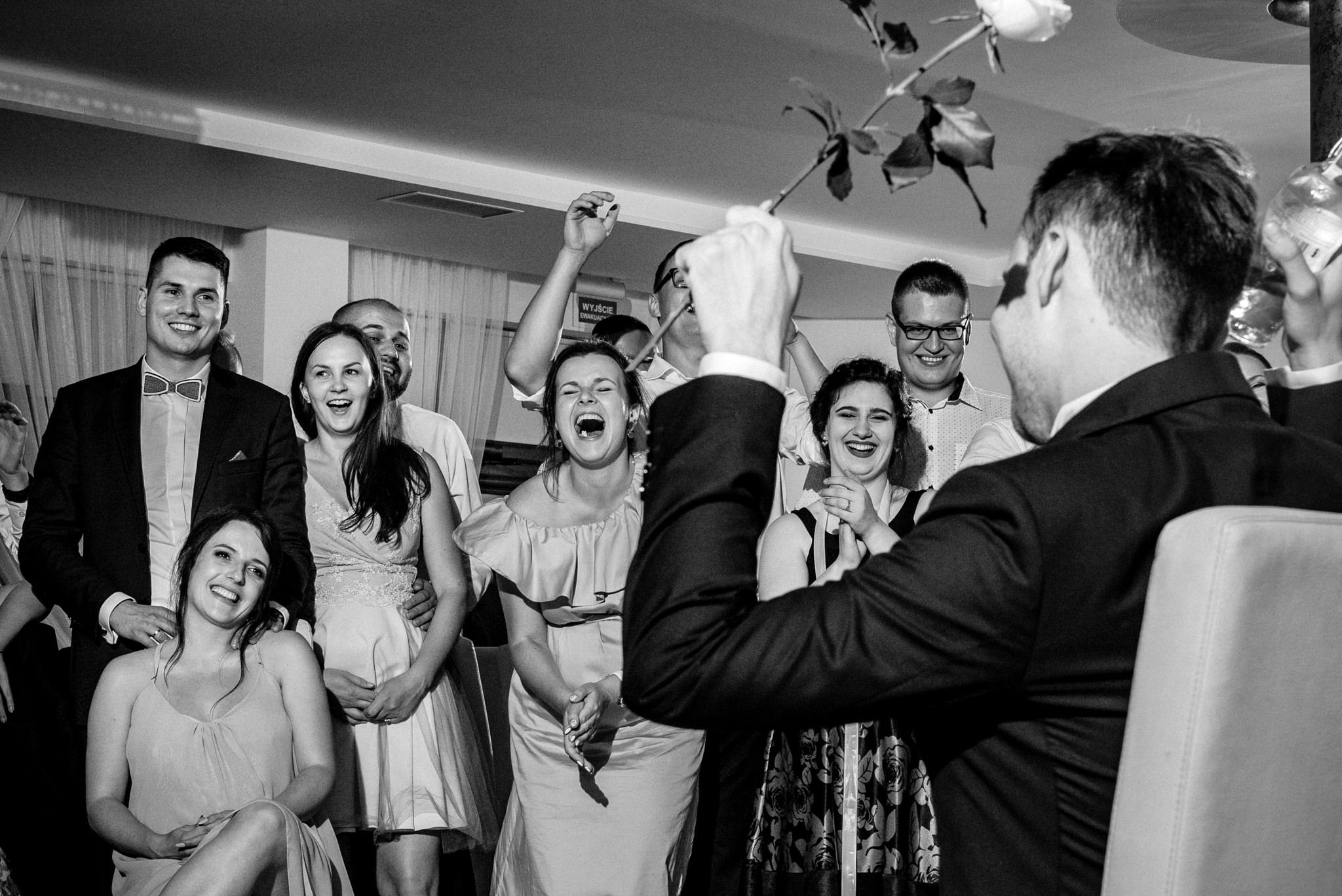 Szczególny ślub Karoliny i Tomka | hotel Forest 82