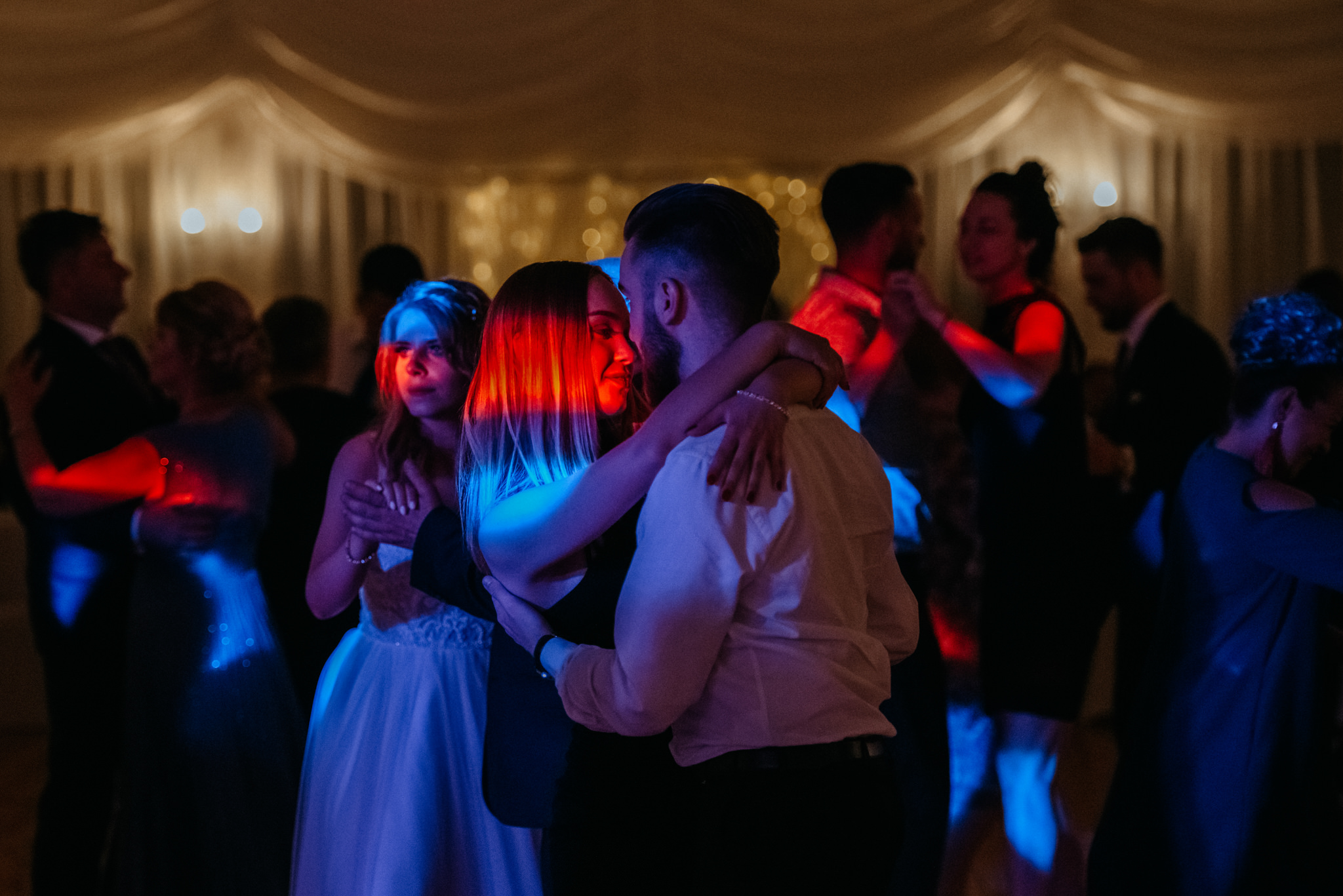 Plenerowe wesele w namiocie Ani i Maćka   Pałac w Olszanicy 94