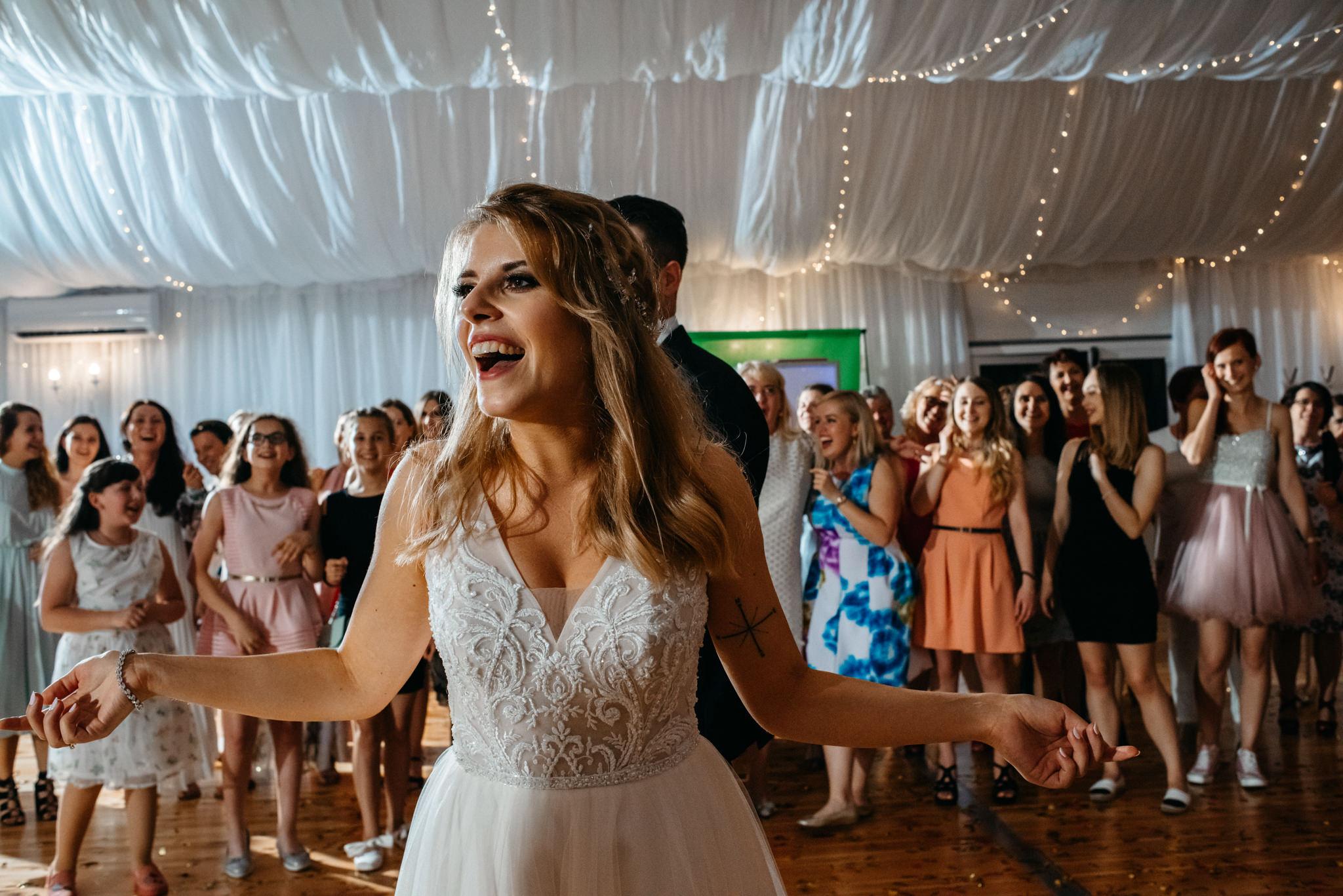 Plenerowe wesele w namiocie Ani i Maćka   Pałac w Olszanicy 101