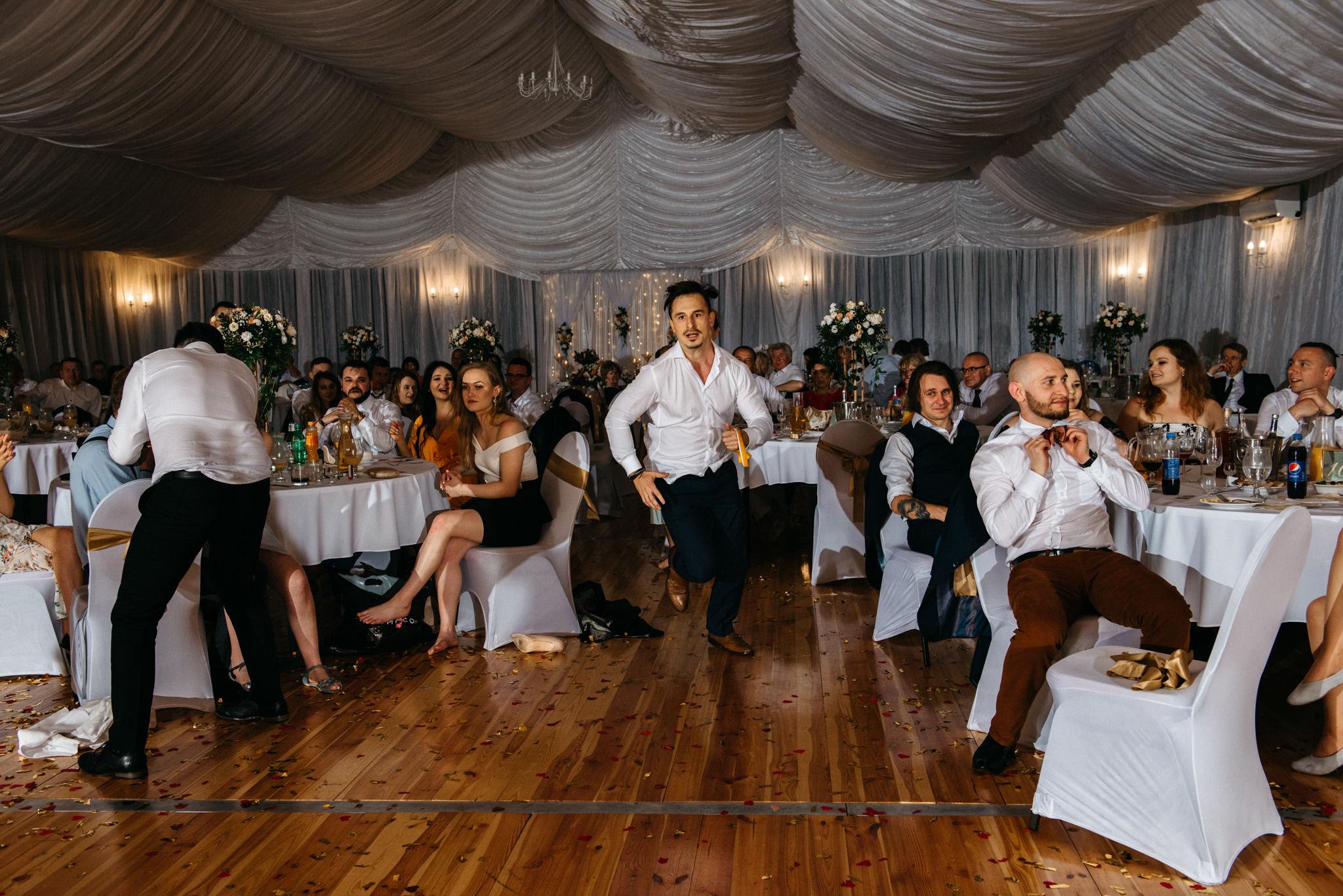 Plenerowe wesele w namiocie Ani i Maćka   Pałac w Olszanicy 107