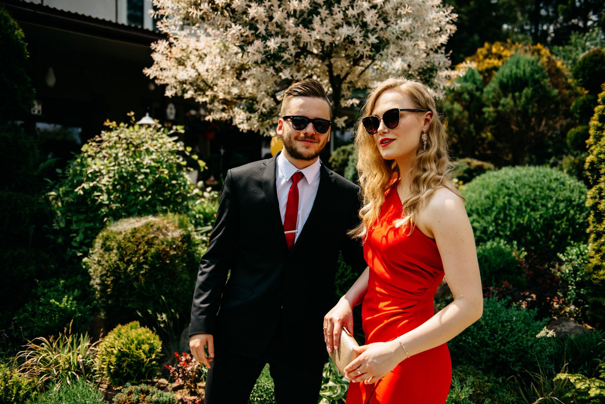 Plenerowe wesele w namiocie Ani i Maćka   Pałac w Olszanicy 9