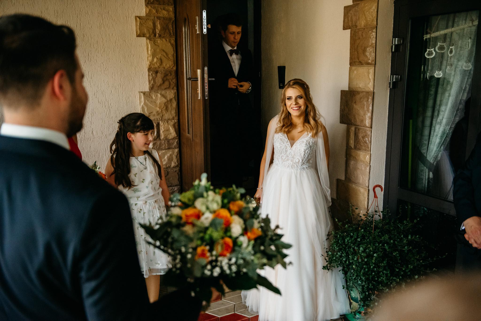 Plenerowe wesele w namiocie Ani i Maćka   Pałac w Olszanicy 19