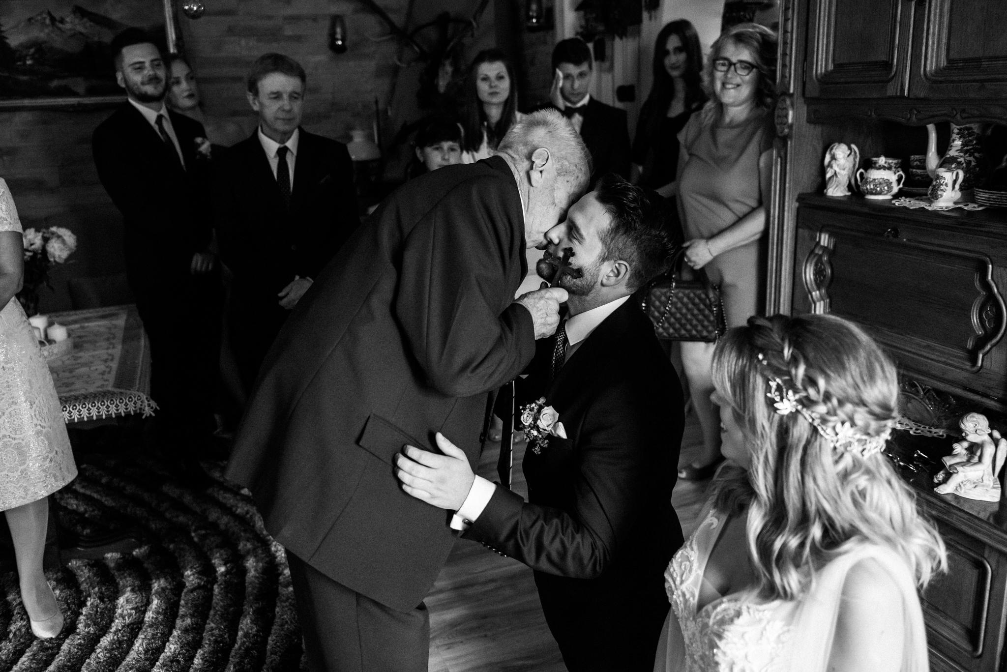 Plenerowe wesele w namiocie Ani i Maćka   Pałac w Olszanicy 21
