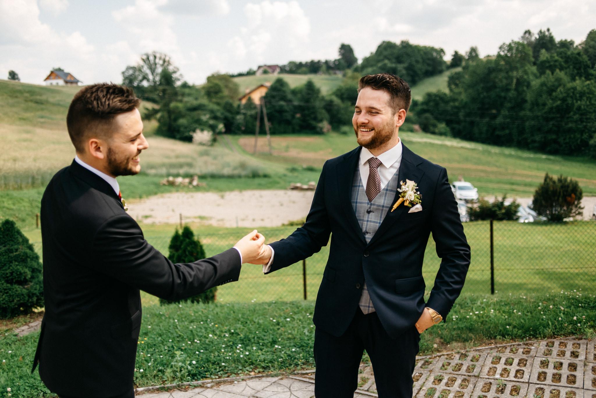 Plenerowe wesele w namiocie Ani i Maćka   Pałac w Olszanicy 27
