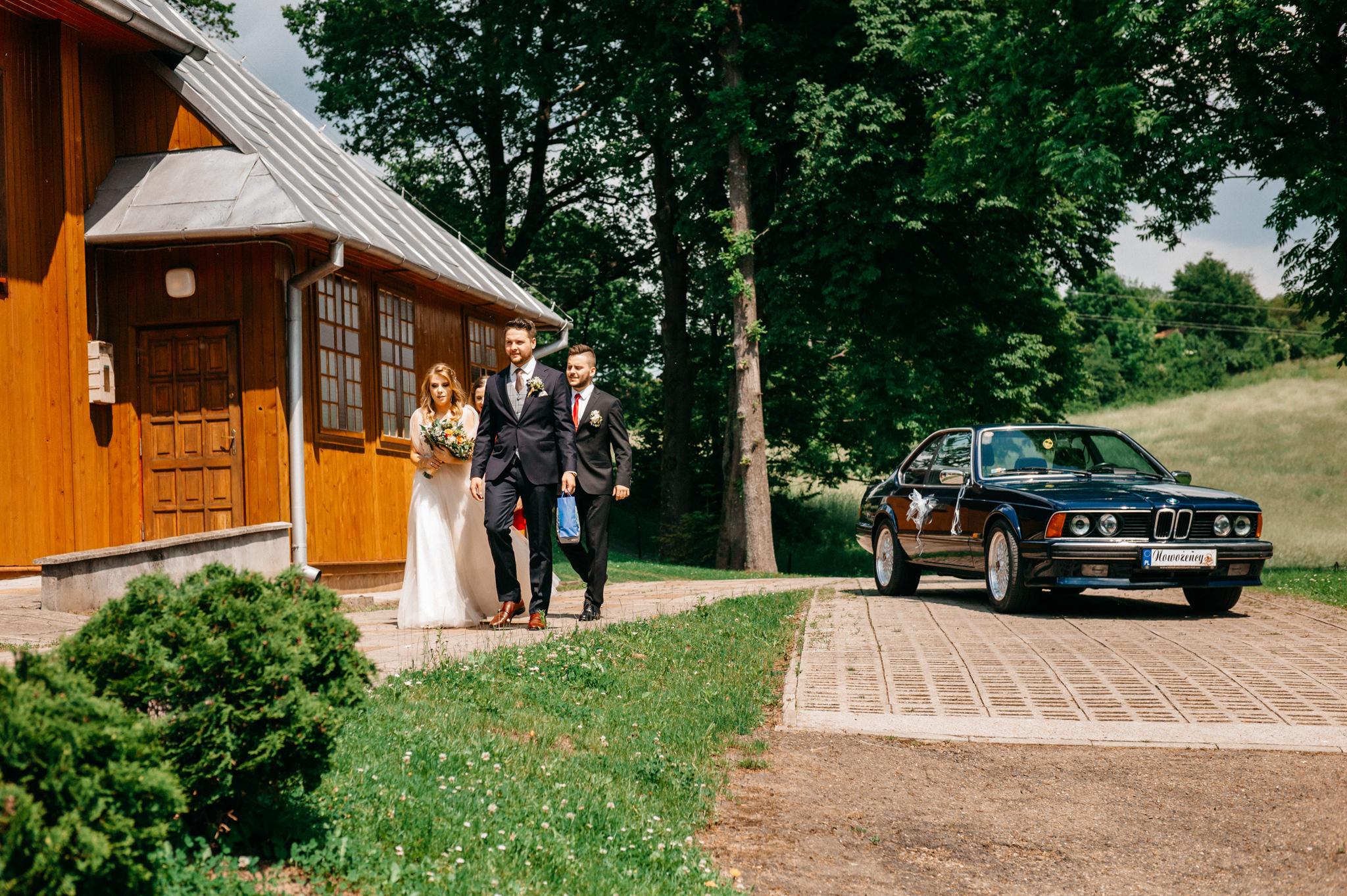 Plenerowe wesele w namiocie Ani i Maćka   Pałac w Olszanicy 28