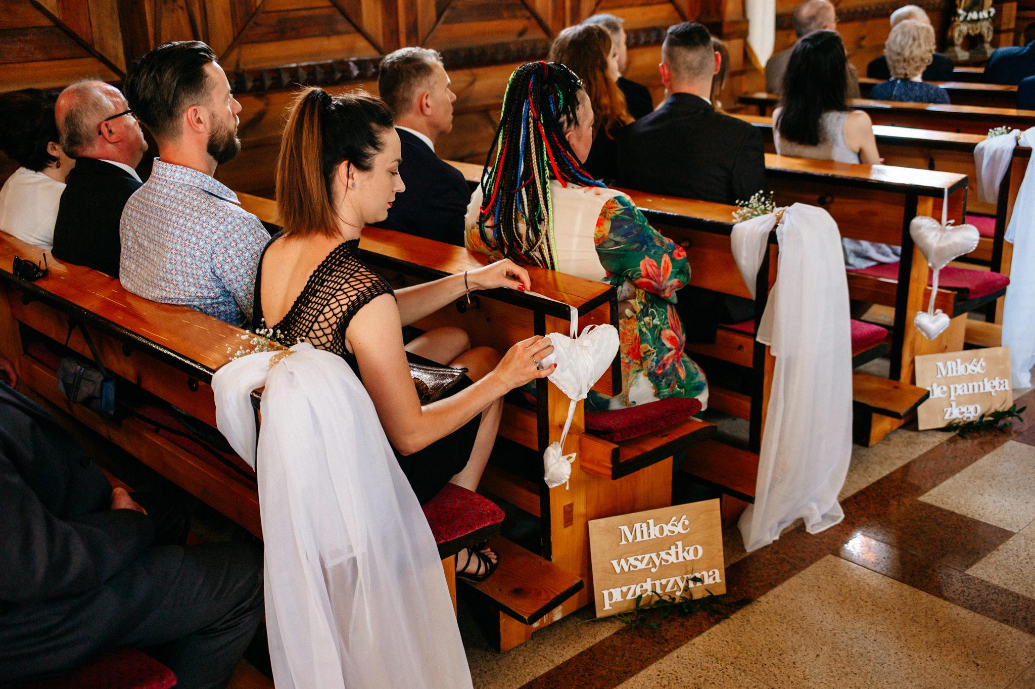 Plenerowe wesele w namiocie Ani i Maćka   Pałac w Olszanicy 30
