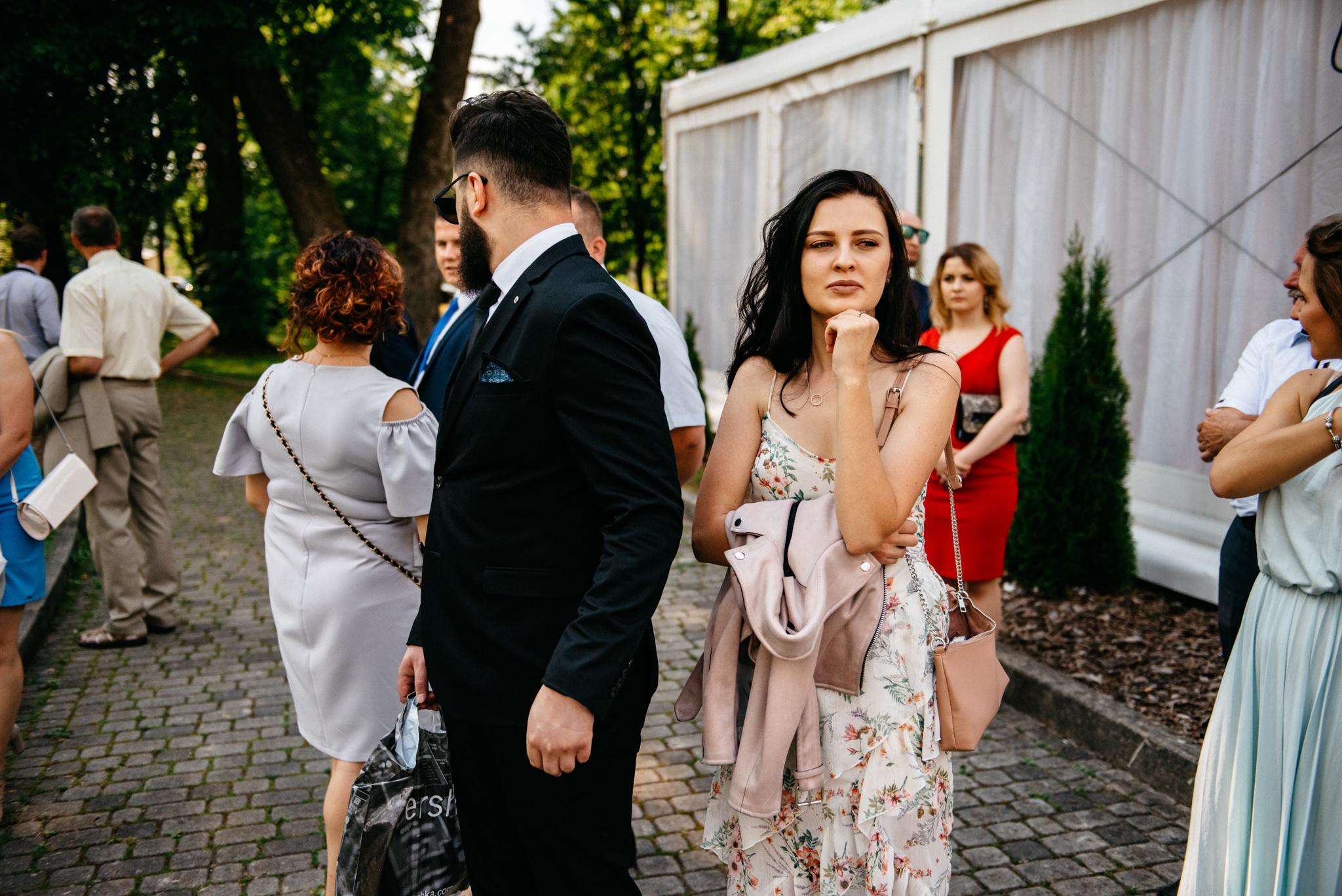 Plenerowe wesele w namiocie Ani i Maćka   Pałac w Olszanicy 49