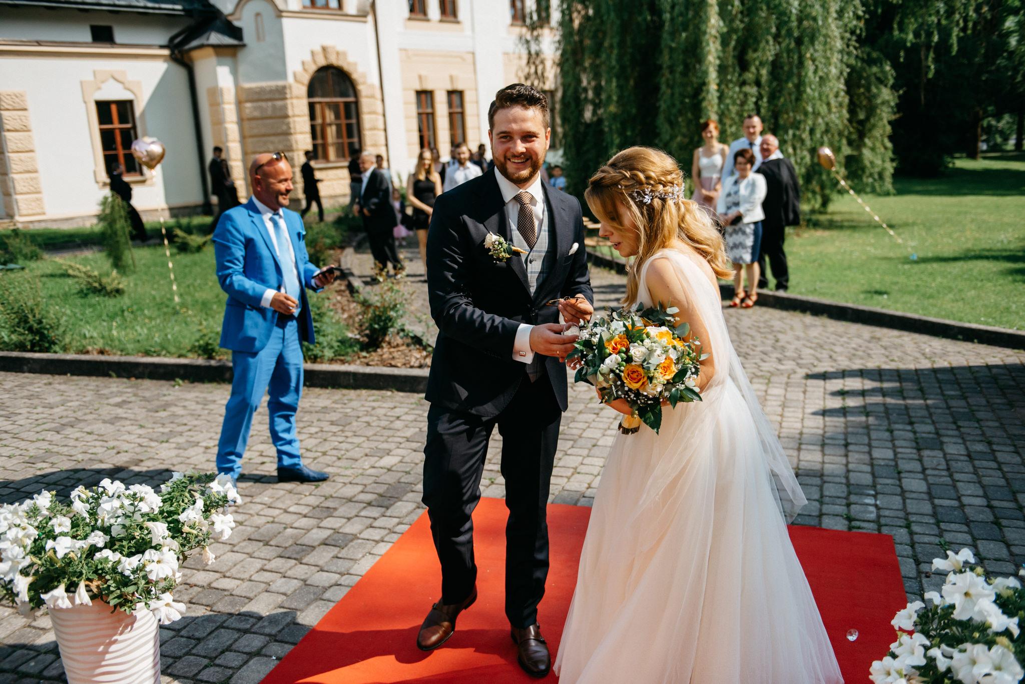 Plenerowe wesele w namiocie Ani i Maćka   Pałac w Olszanicy 54