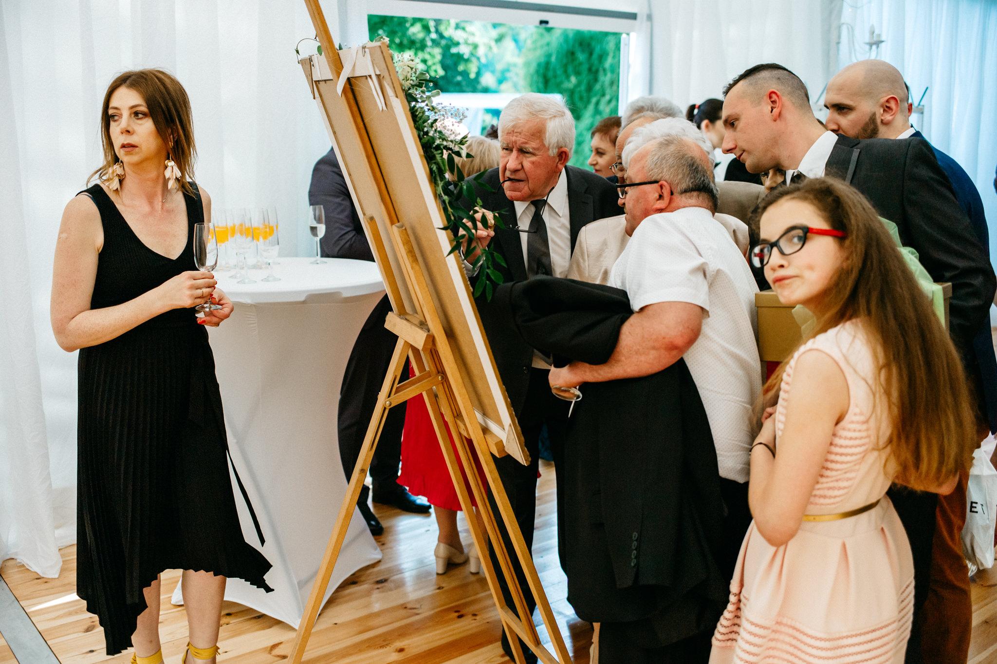 Plenerowe wesele w namiocie Ani i Maćka   Pałac w Olszanicy 55