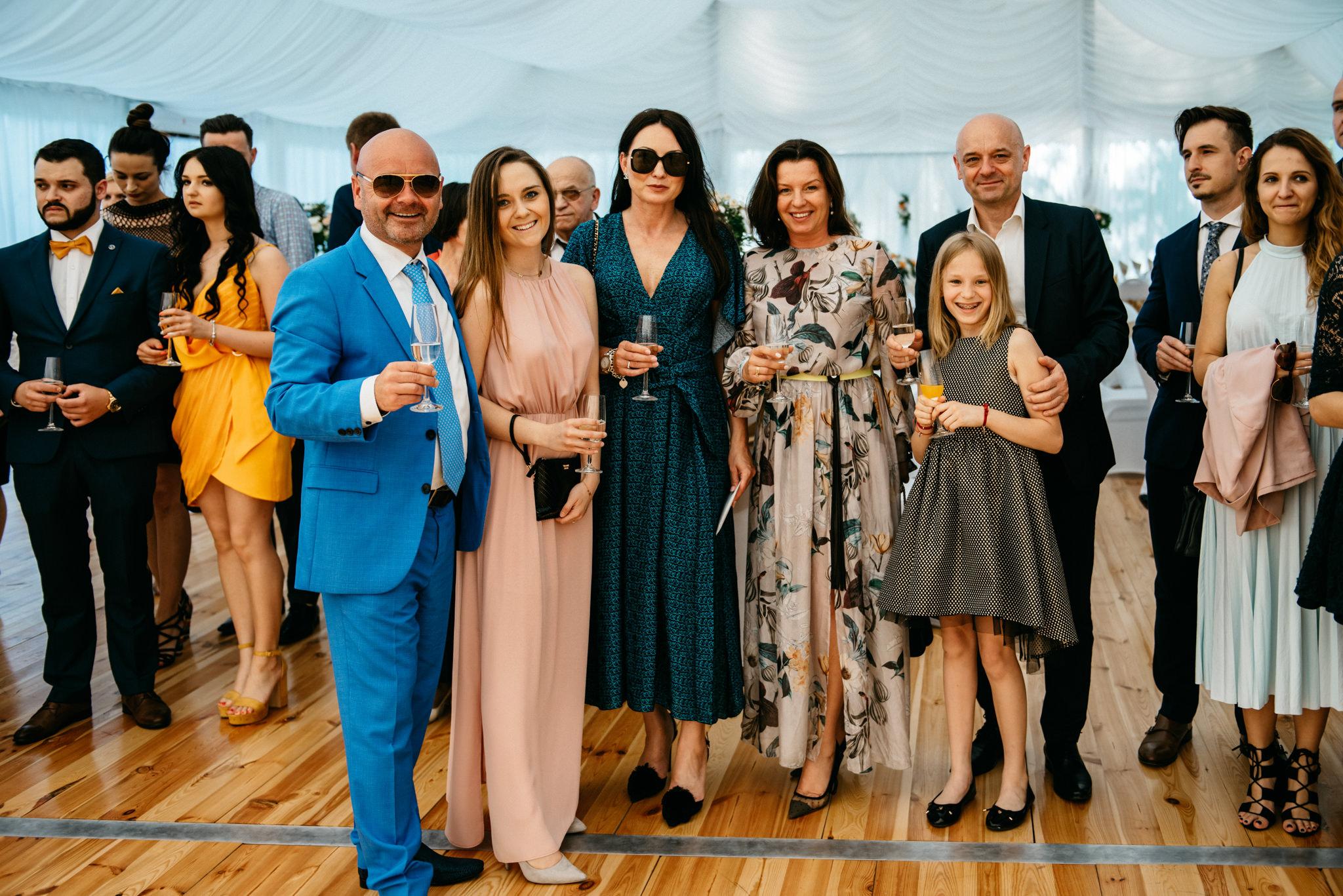 Plenerowe wesele w namiocie Ani i Maćka   Pałac w Olszanicy 57