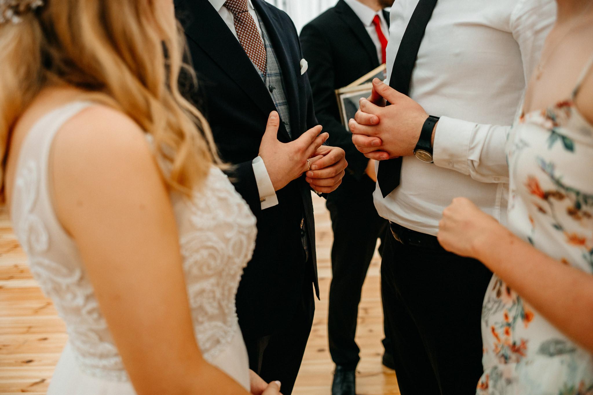 Plenerowe wesele w namiocie Ani i Maćka   Pałac w Olszanicy 66