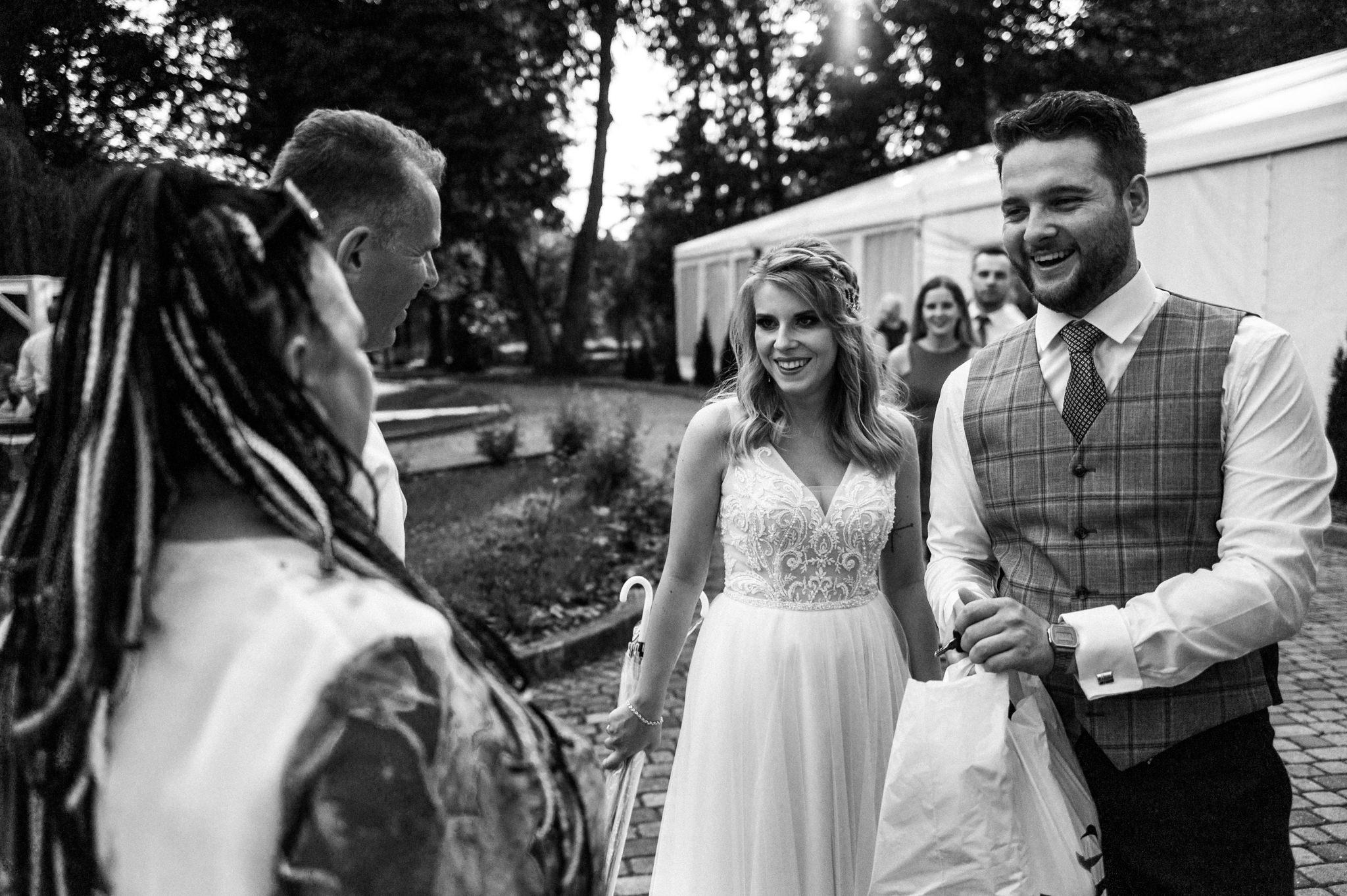 Plenerowe wesele w namiocie Ani i Maćka   Pałac w Olszanicy 75