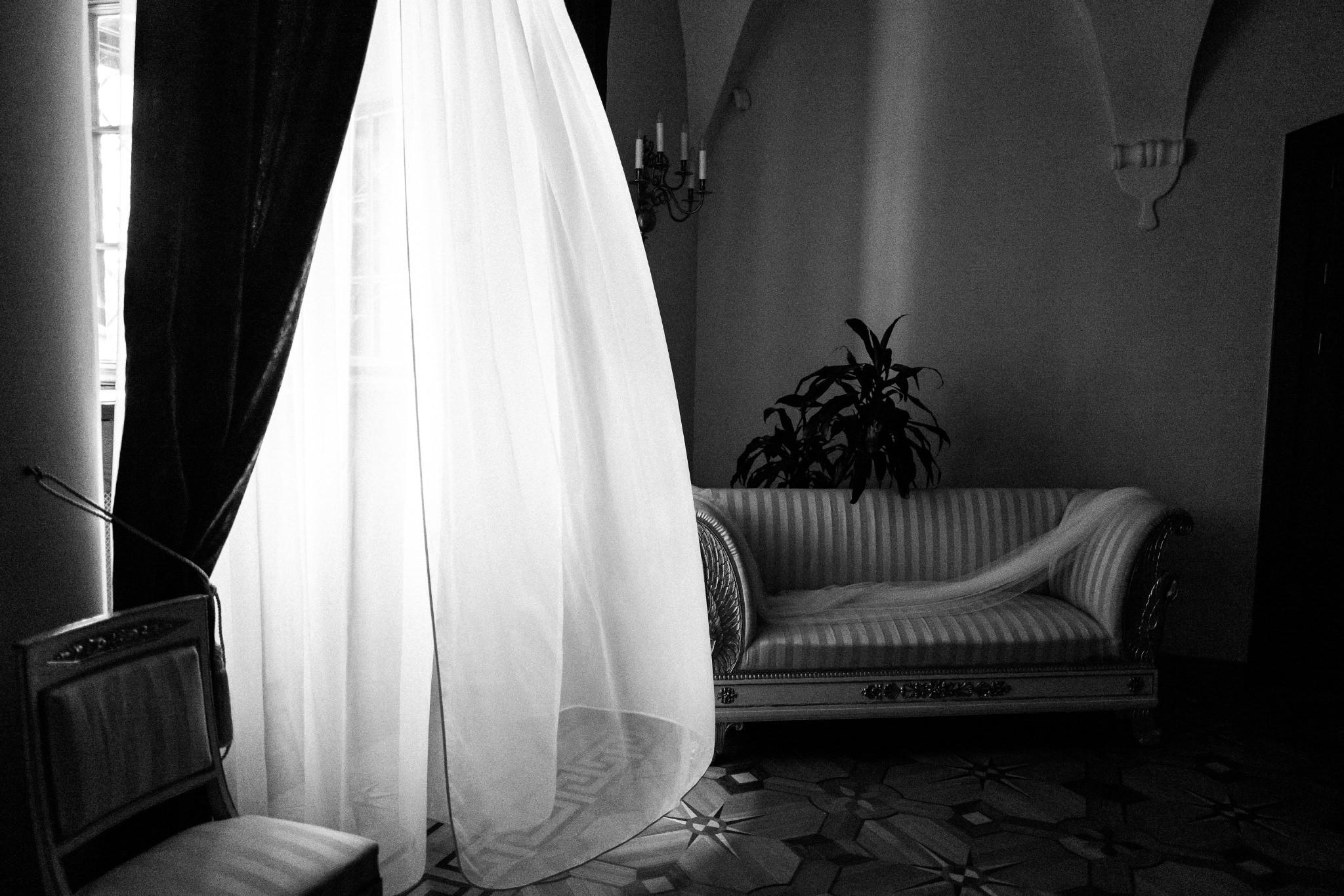 Plenerowy ślub na Zamku w Baranowie Sandomierskim 14