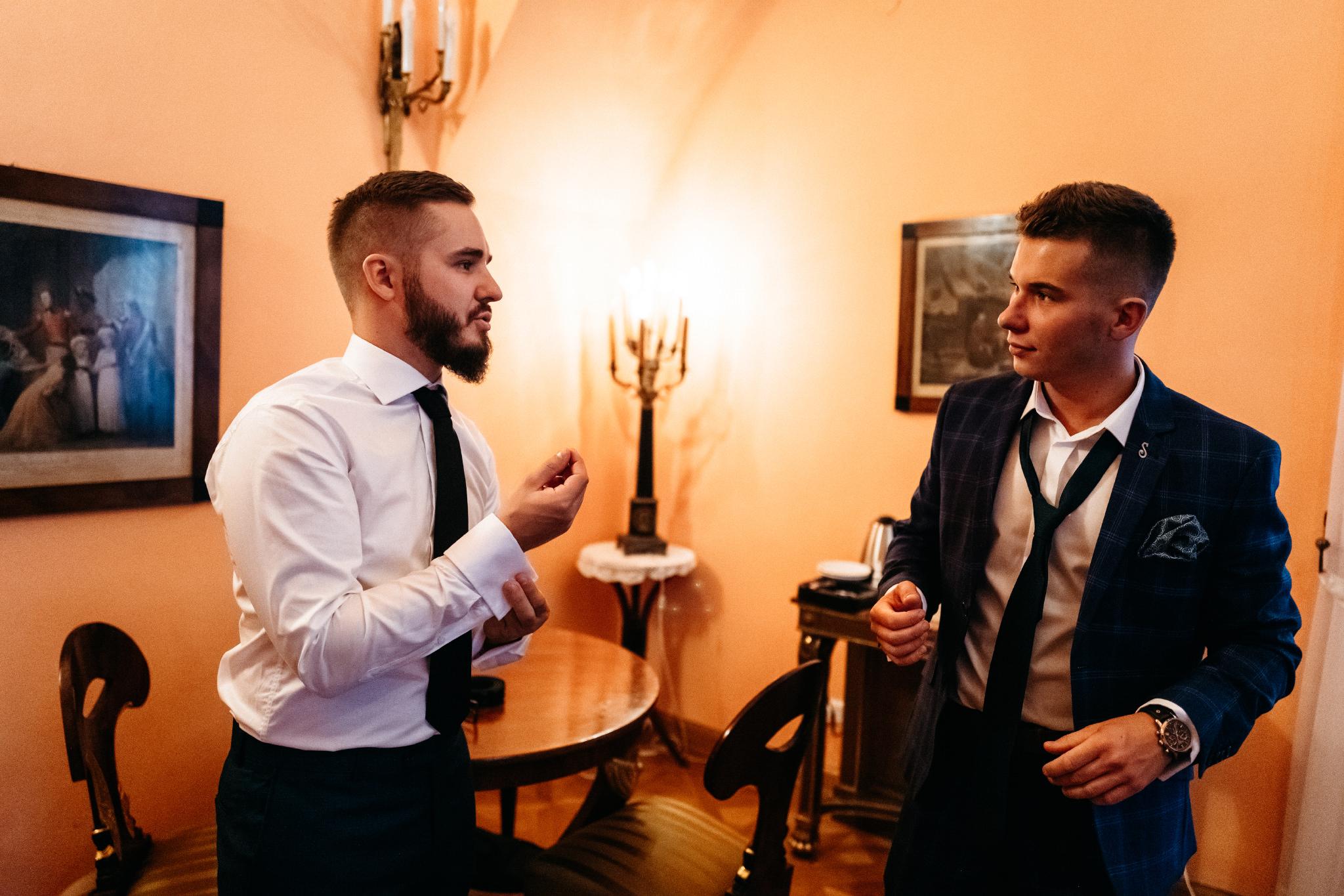 Plenerowy ślub na Zamku w Baranowie Sandomierskim 24