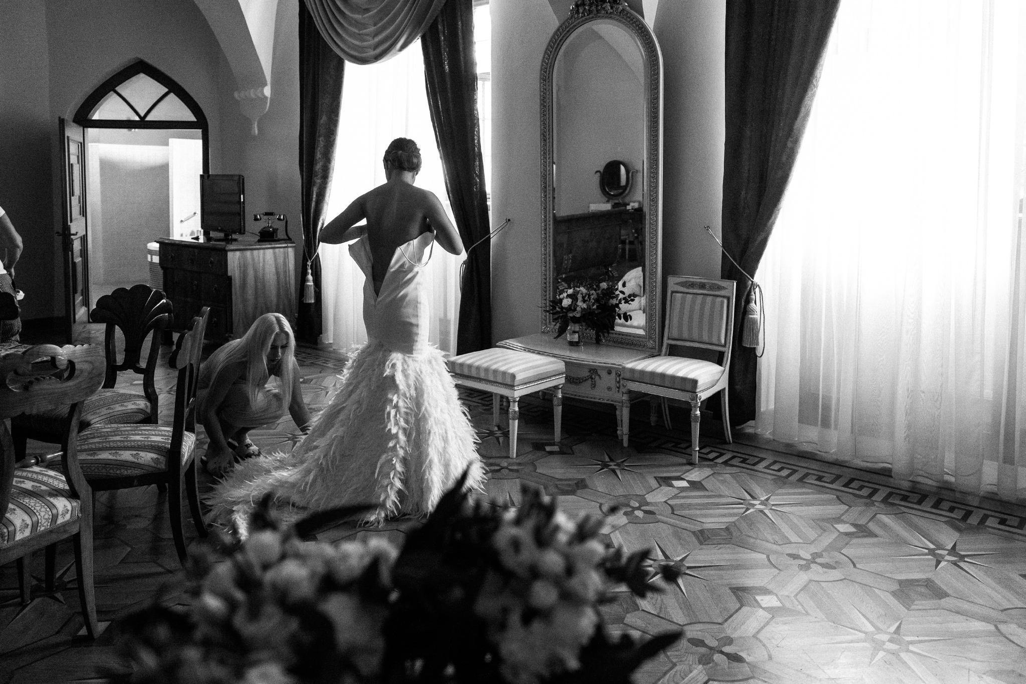 Plenerowy ślub na Zamku w Baranowie Sandomierskim 38