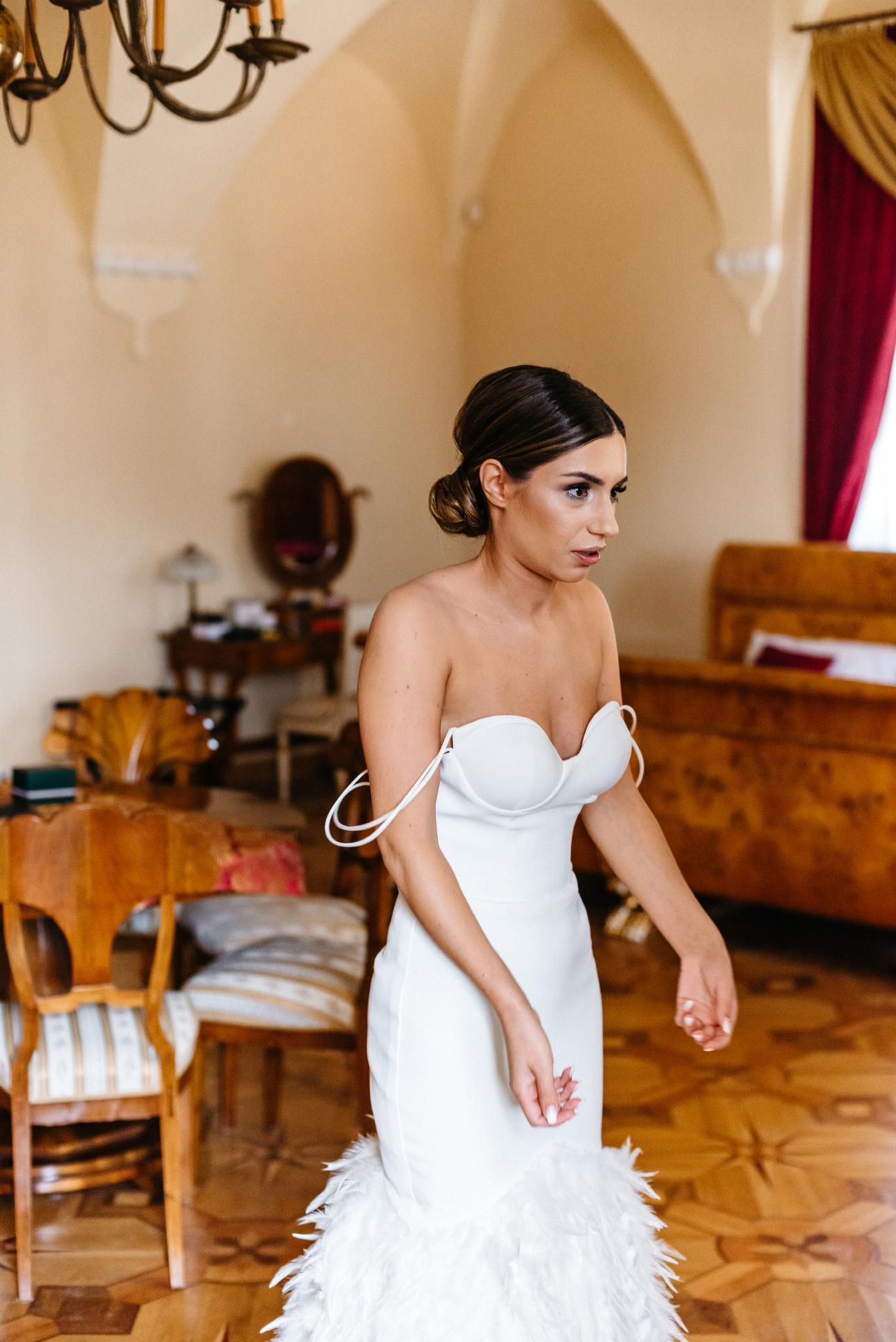 Plenerowy ślub na Zamku w Baranowie Sandomierskim 39