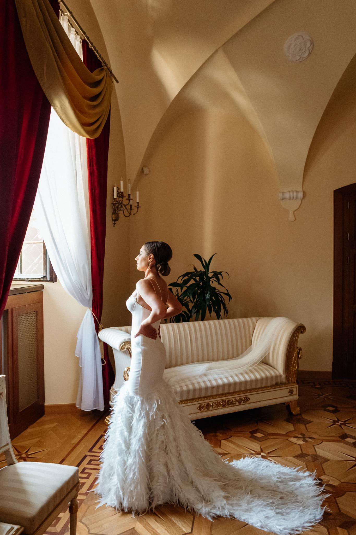 Plenerowy ślub na Zamku w Baranowie Sandomierskim 45