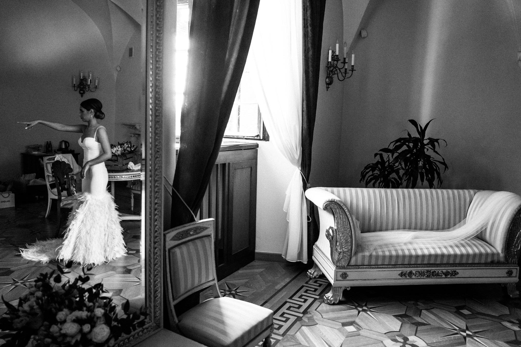 Plenerowy ślub na Zamku w Baranowie Sandomierskim 48