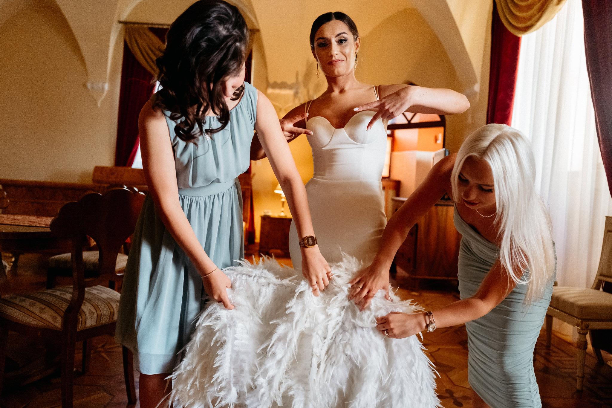 Plenerowy ślub na Zamku w Baranowie Sandomierskim 47