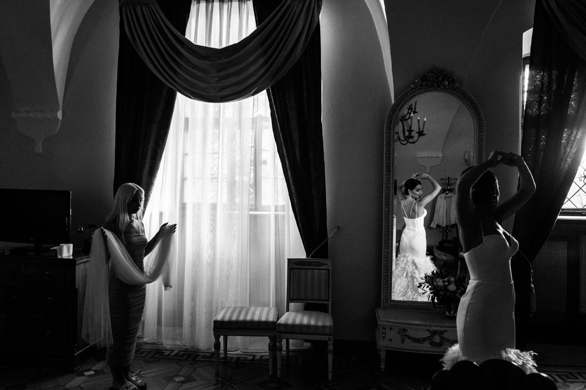 Plenerowy ślub na Zamku w Baranowie Sandomierskim 52