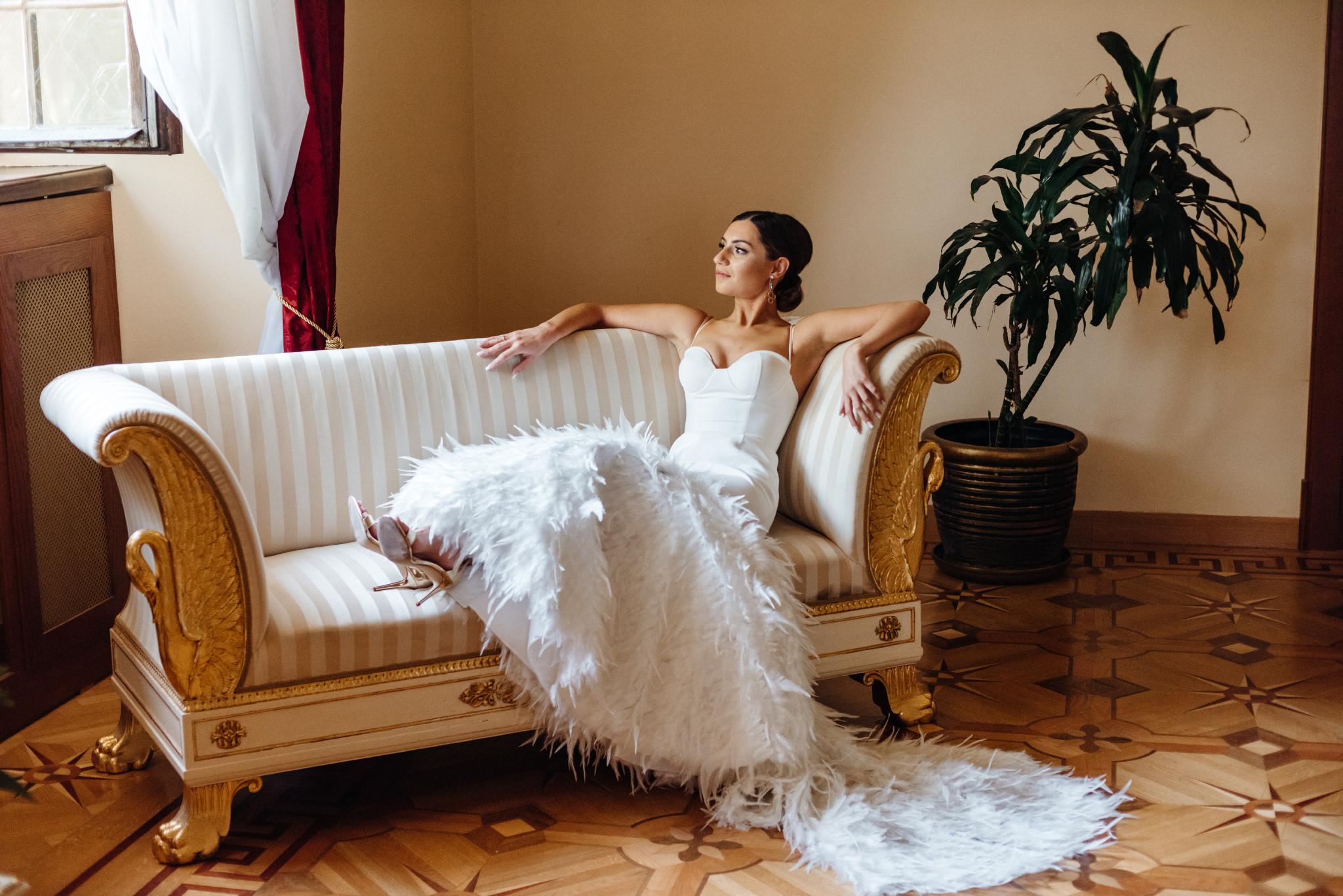 Plenerowy ślub na Zamku w Baranowie Sandomierskim 53