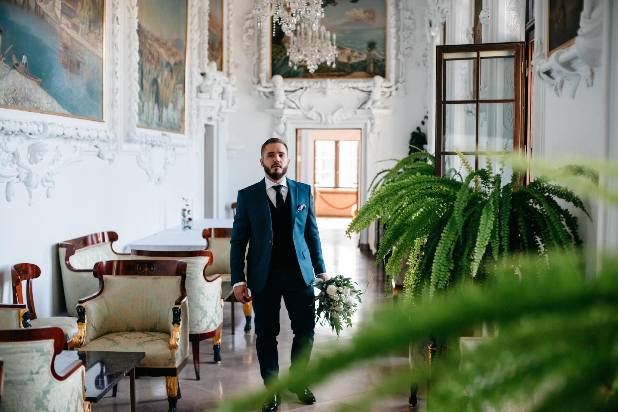 Plenerowy ślub na Zamku w Baranowie Sandomierskim 55