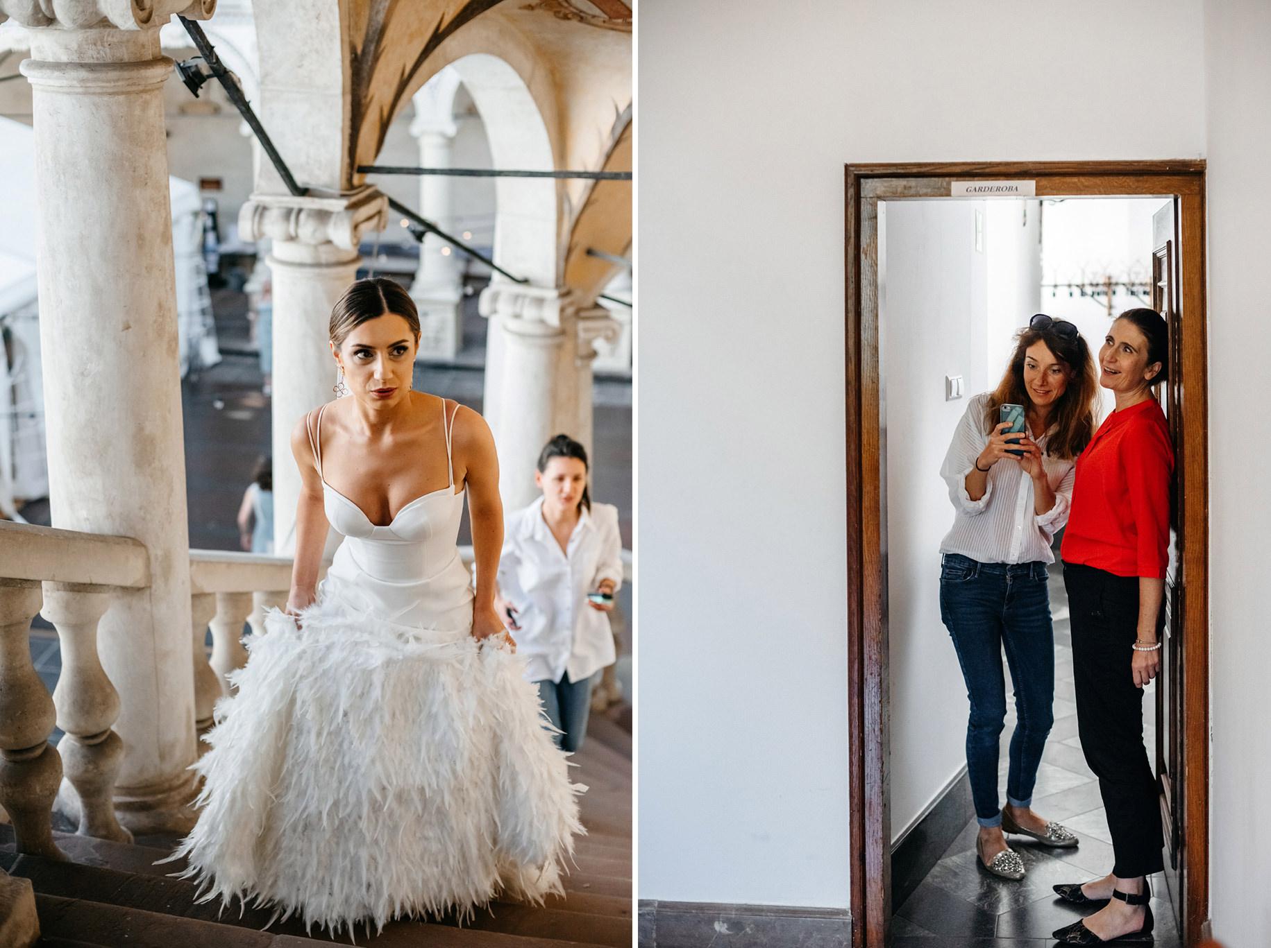 Plenerowy ślub na Zamku w Baranowie Sandomierskim 56