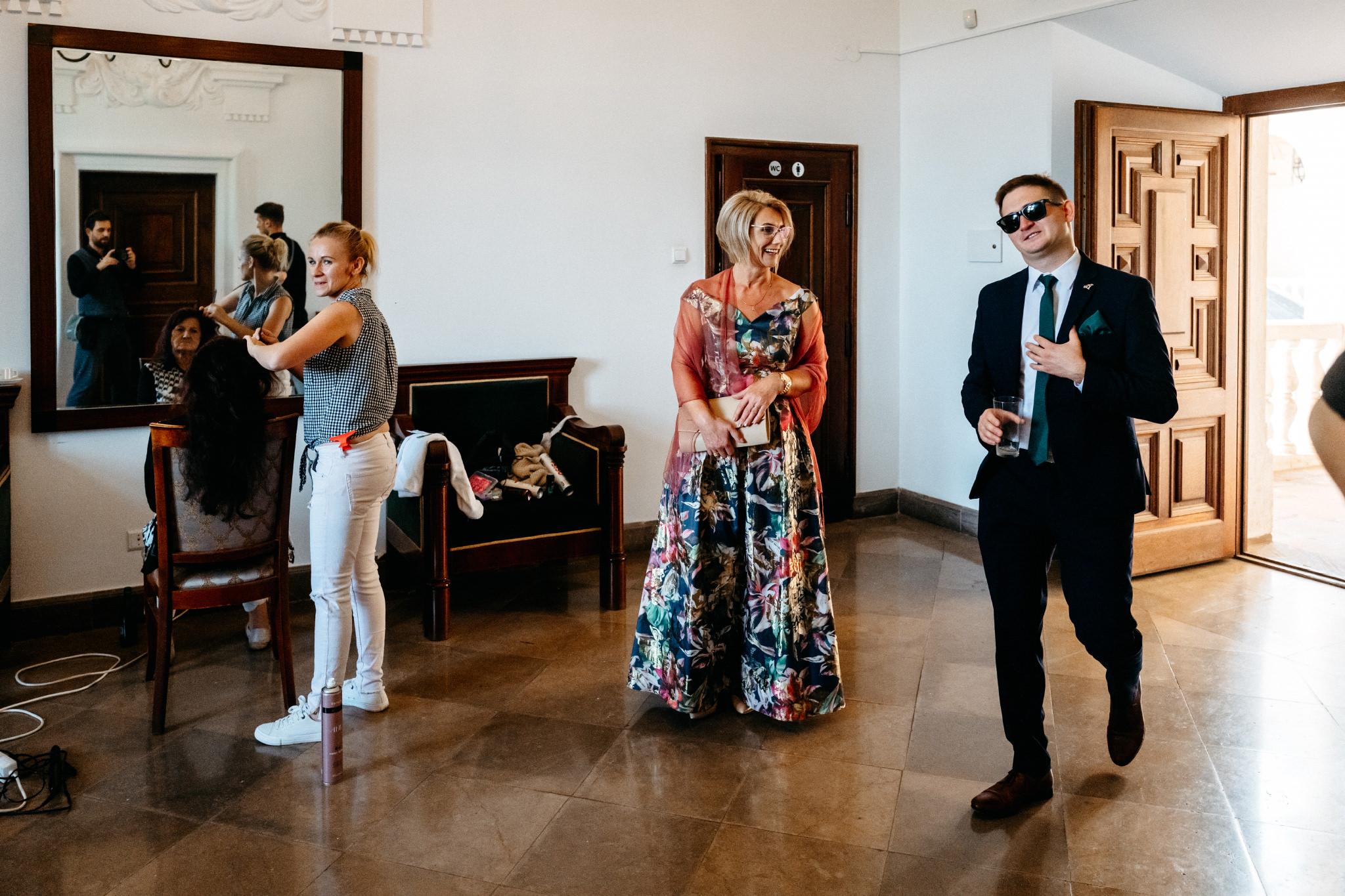 Plenerowy ślub na Zamku w Baranowie Sandomierskim 57