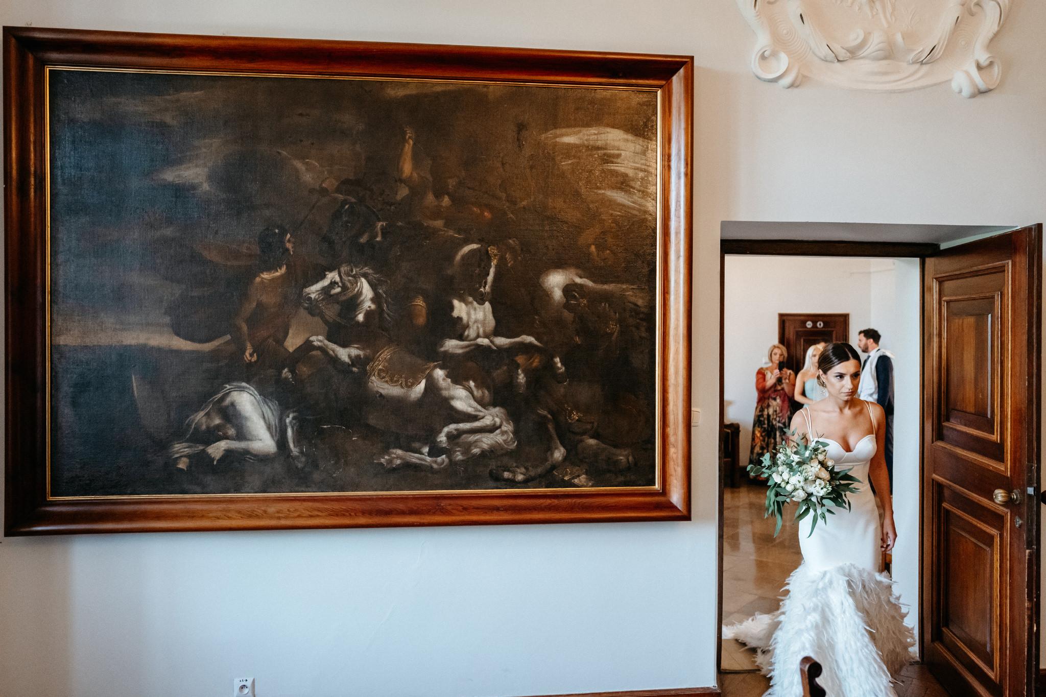Plenerowy ślub na Zamku w Baranowie Sandomierskim 59