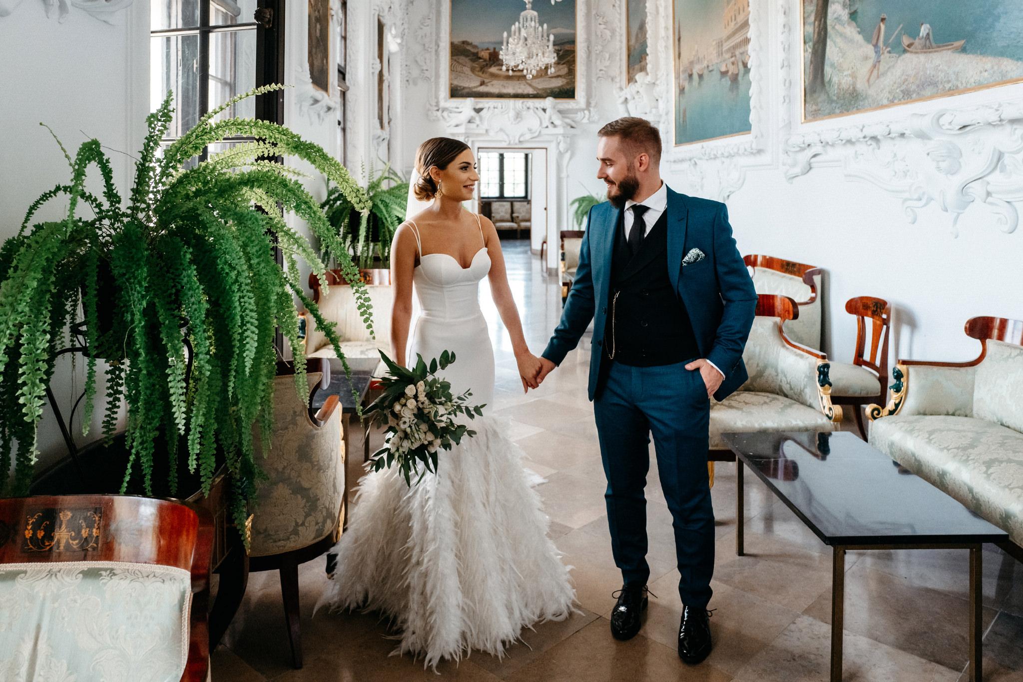 Plenerowy ślub na Zamku w Baranowie Sandomierskim 61