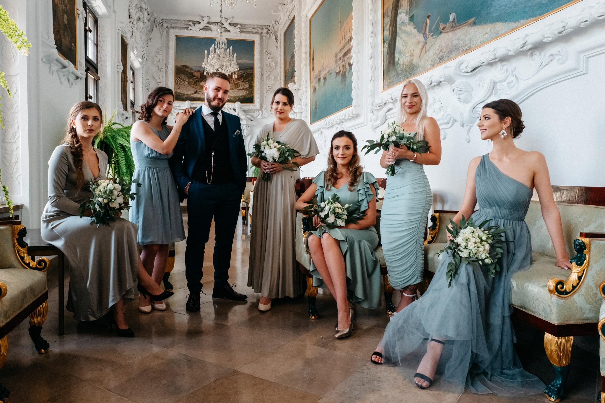 Plenerowy ślub na Zamku w Baranowie Sandomierskim 62