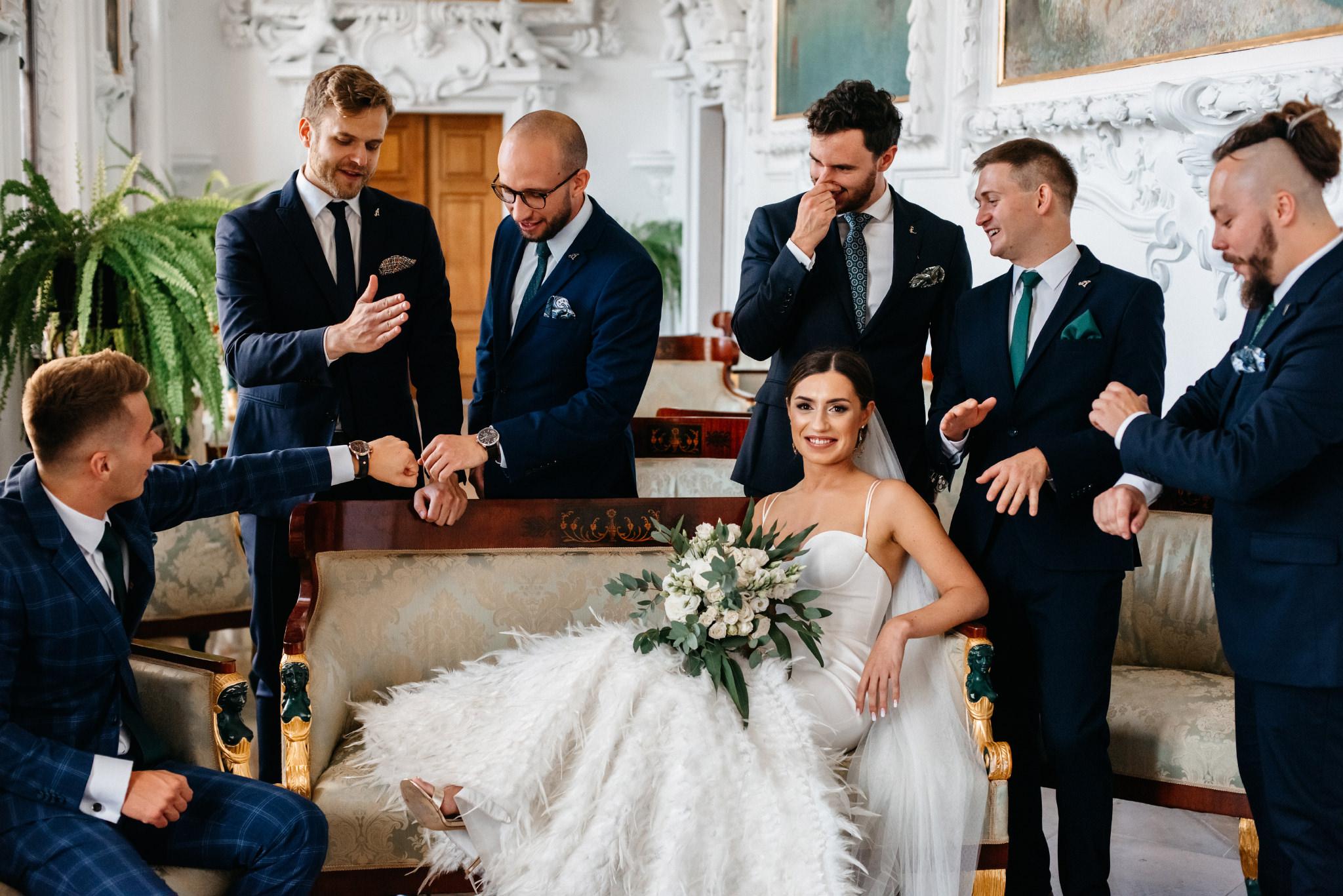 Plenerowy ślub na Zamku w Baranowie Sandomierskim 63