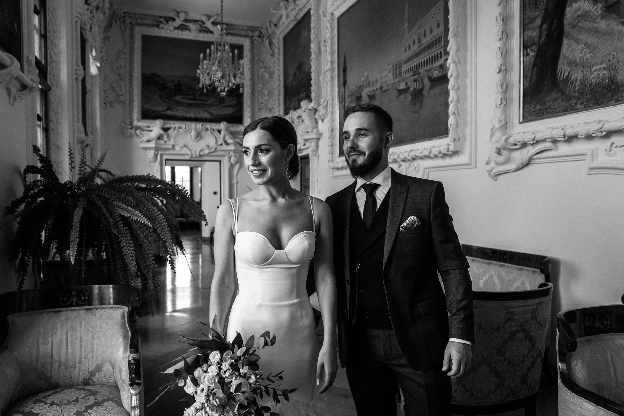 Plenerowy ślub na Zamku w Baranowie Sandomierskim 64