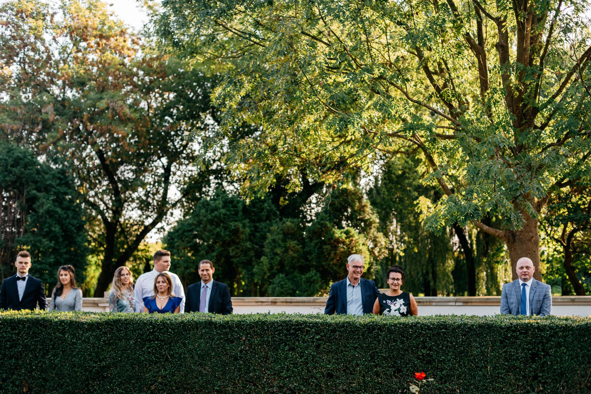 Plenerowy ślub na Zamku w Baranowie Sandomierskim 78