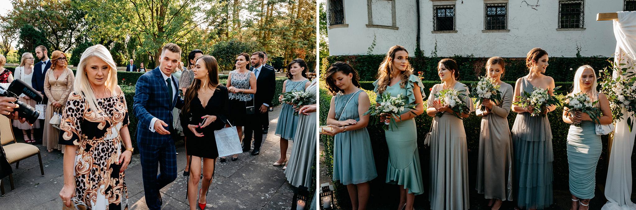 Plenerowy ślub na Zamku w Baranowie Sandomierskim 81