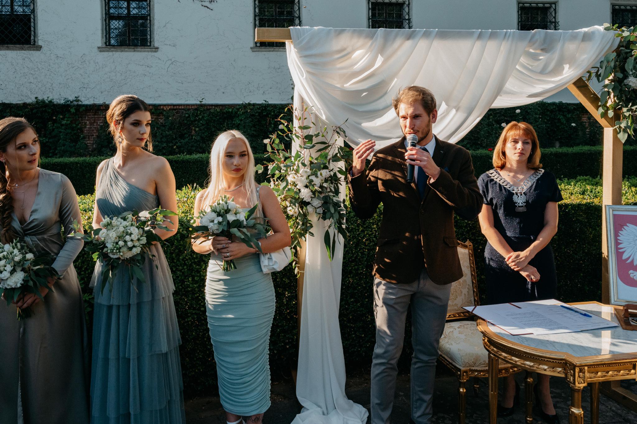 Plenerowy ślub na Zamku w Baranowie Sandomierskim 83