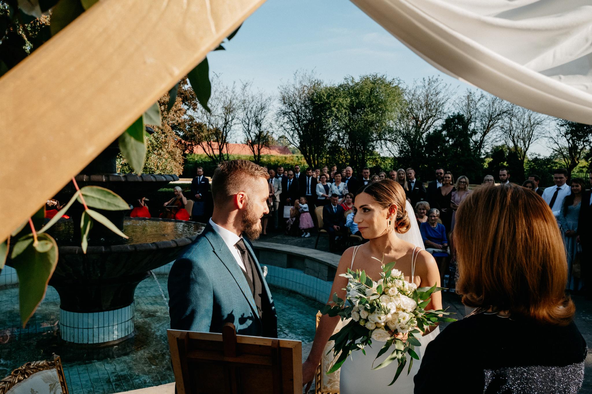 Plenerowy ślub na Zamku w Baranowie Sandomierskim 86