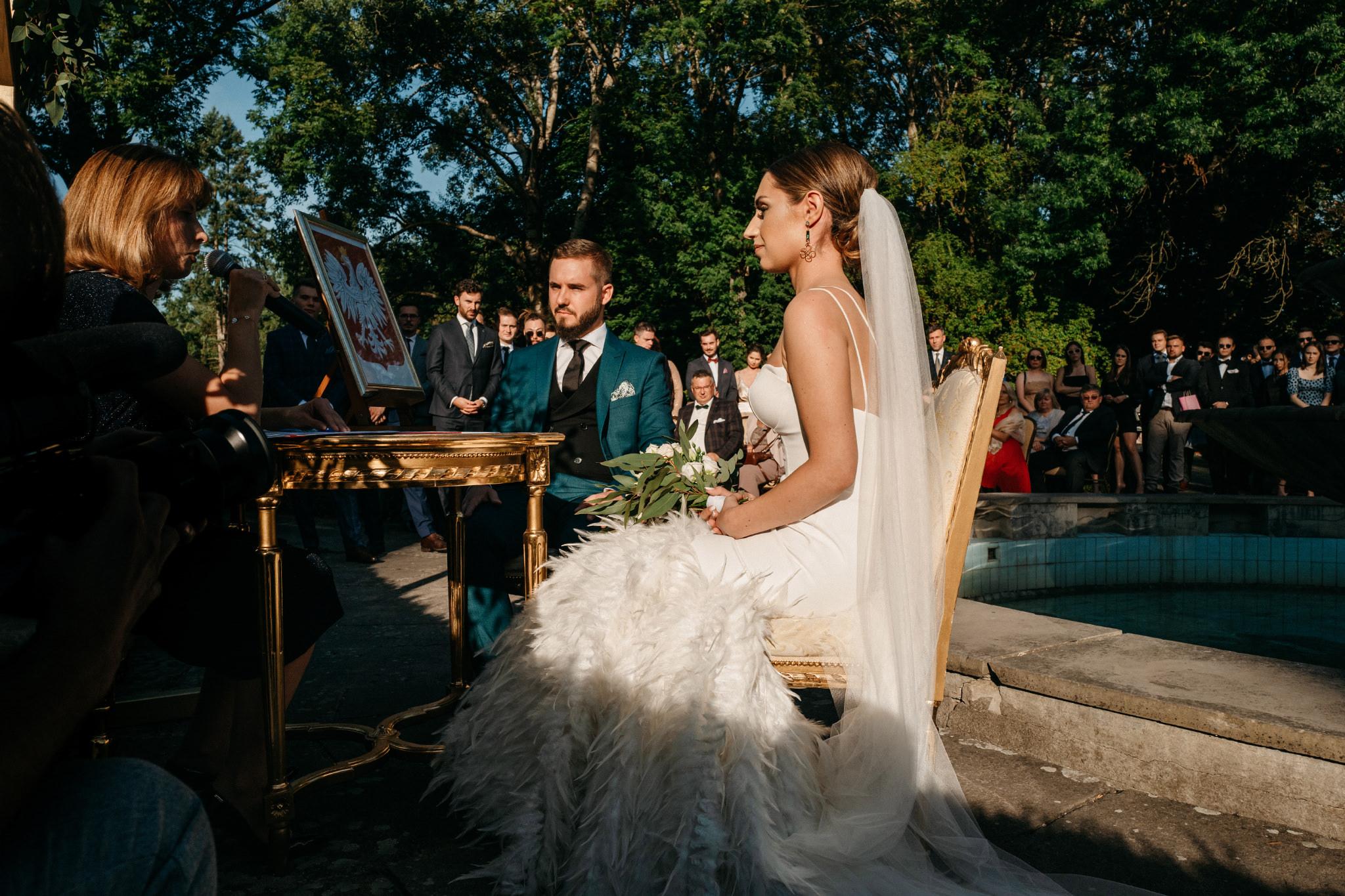 Plenerowy ślub na Zamku w Baranowie Sandomierskim 89
