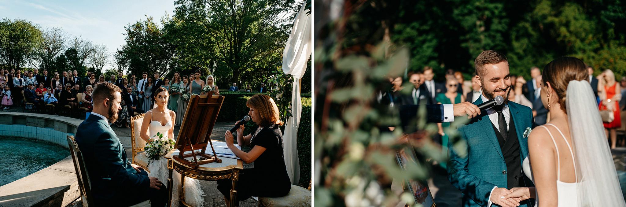 Plenerowy ślub na Zamku w Baranowie Sandomierskim 90